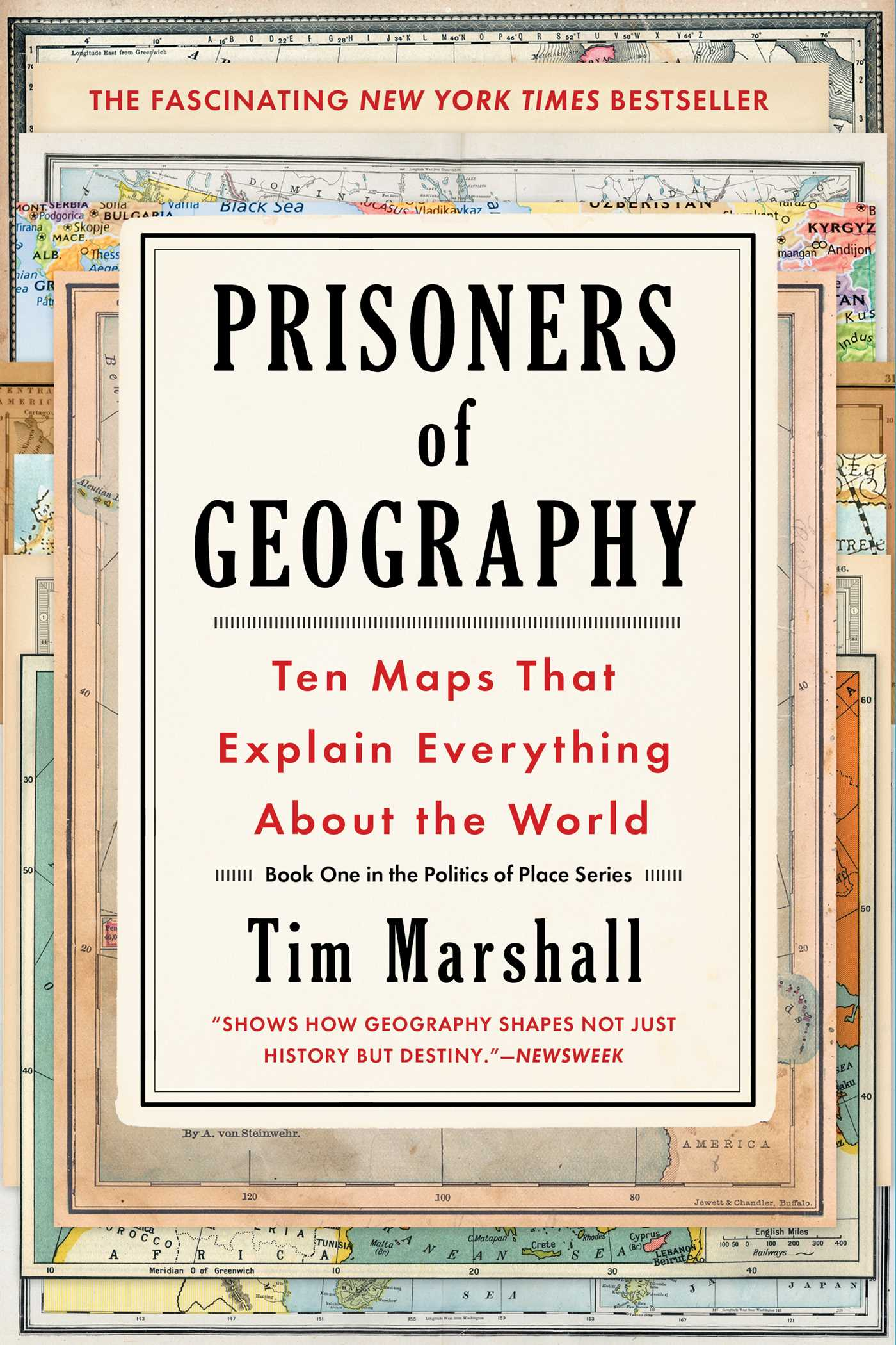 Prisoners of geography 9781501121470 hr