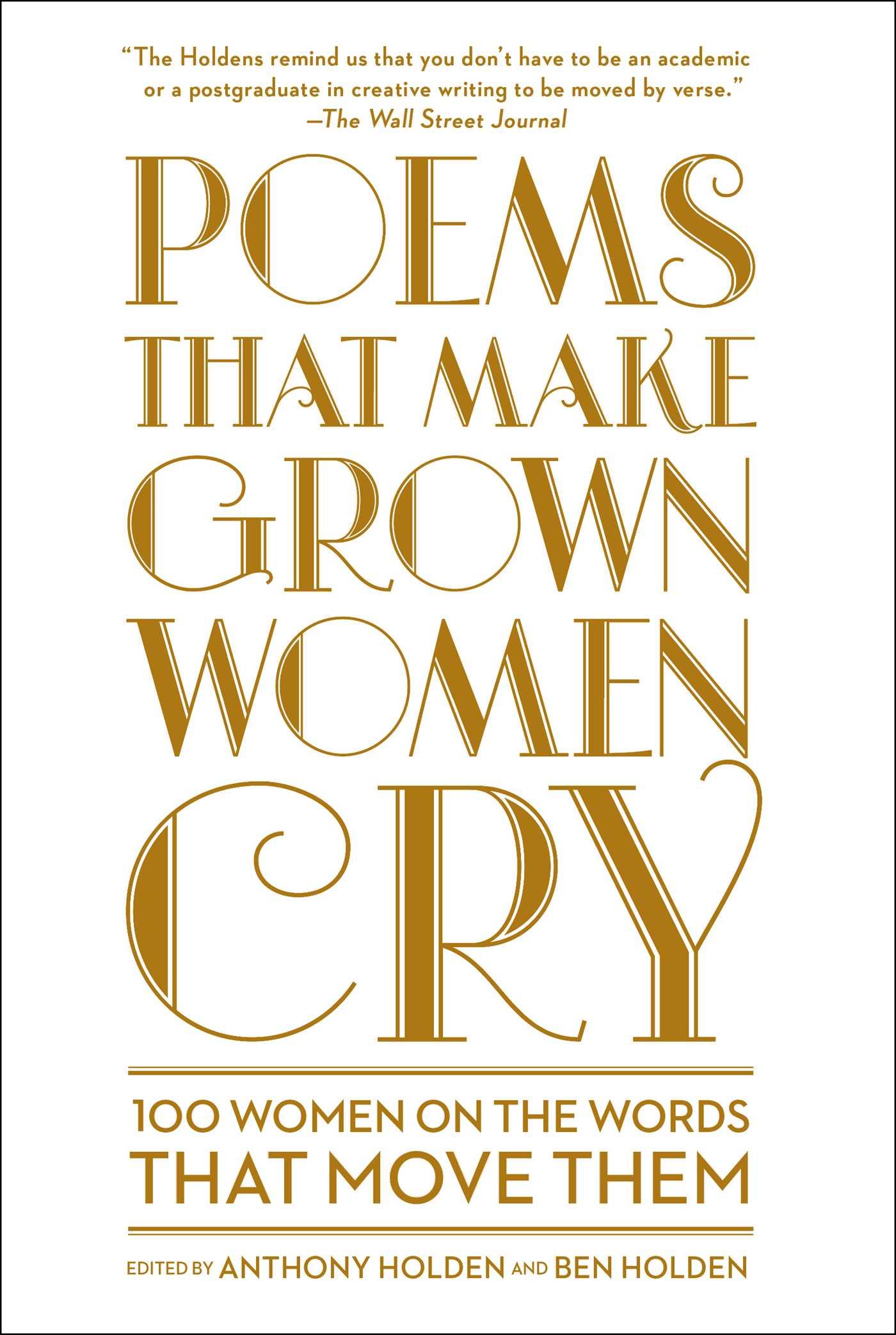 Poems that make grown women cry 9781501121869 hr