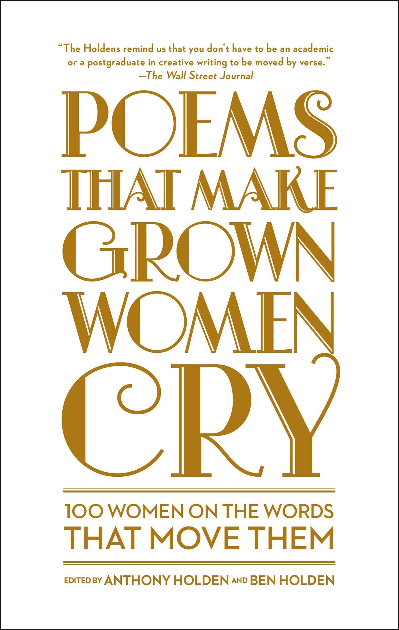 Poems that make grown women cry 9781501121876 hr