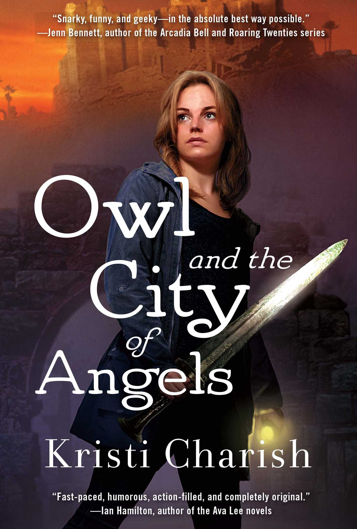 Owl and the city of angels 9781501122101 hr