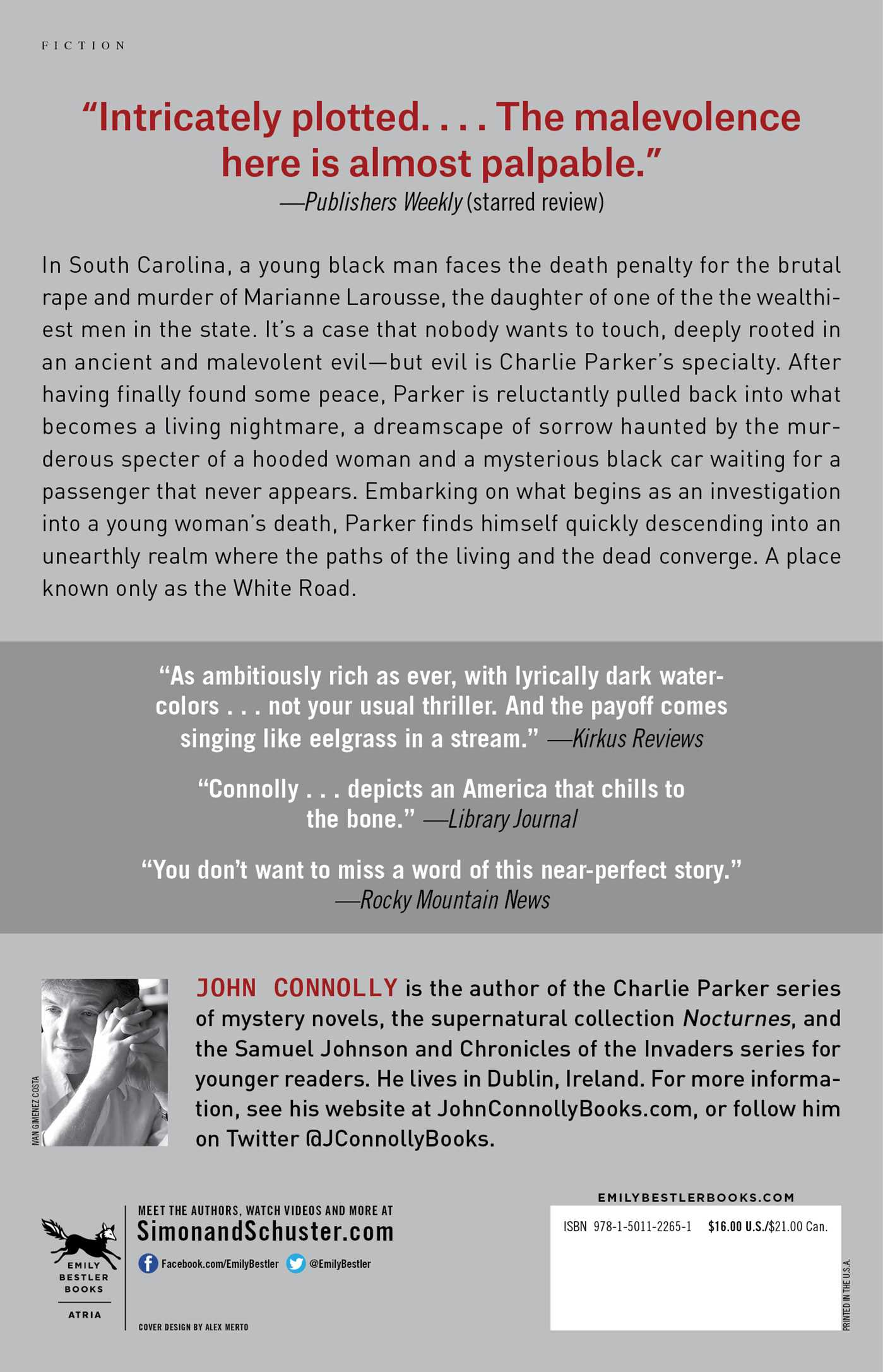 A guide to John Connolly's Charlie Parker