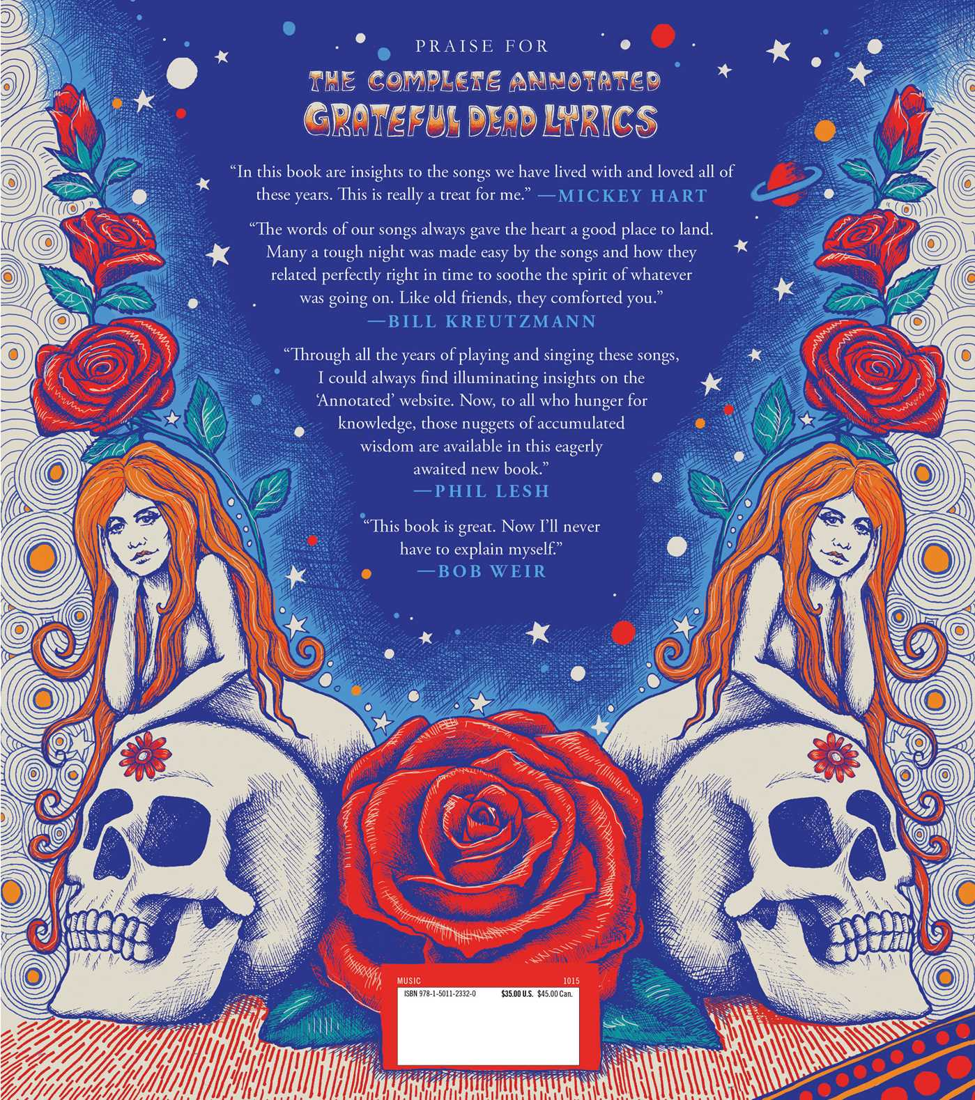 The Complete Annotated Grateful Dead Lyrics | Book by David G  Dodd