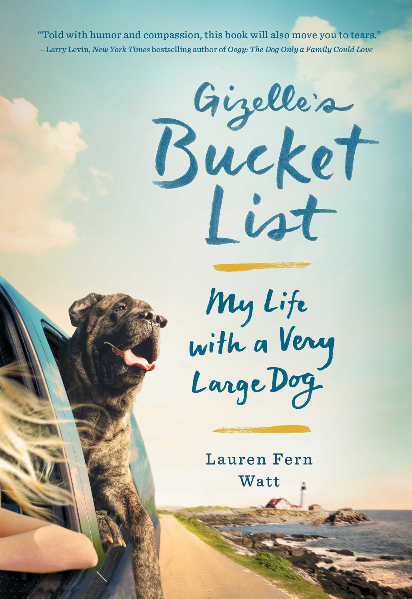 Book Cover Image (jpg): Gizelle's Bucket List