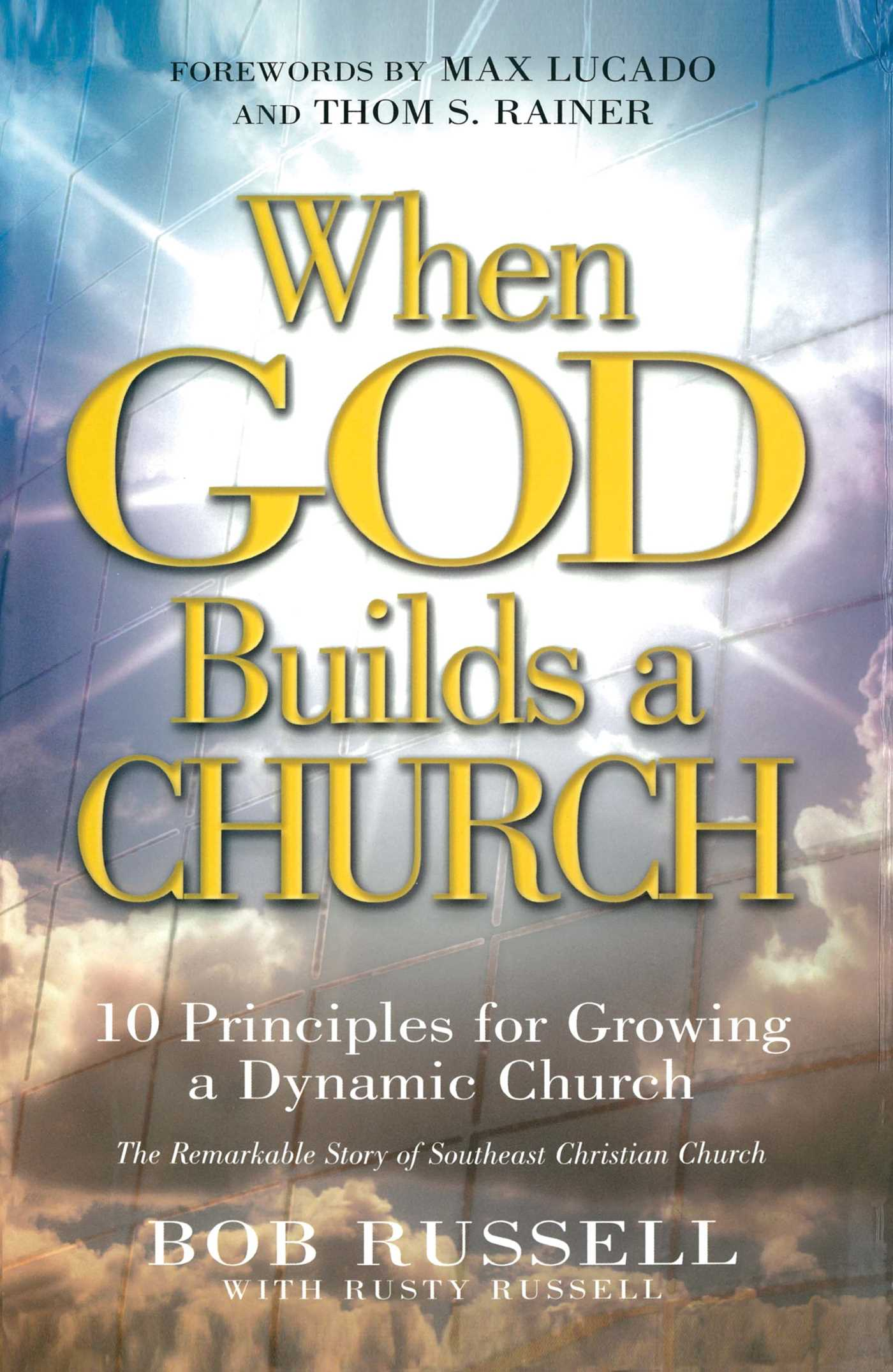 When God Builds a Church | Book by Bob Russell, Rusty