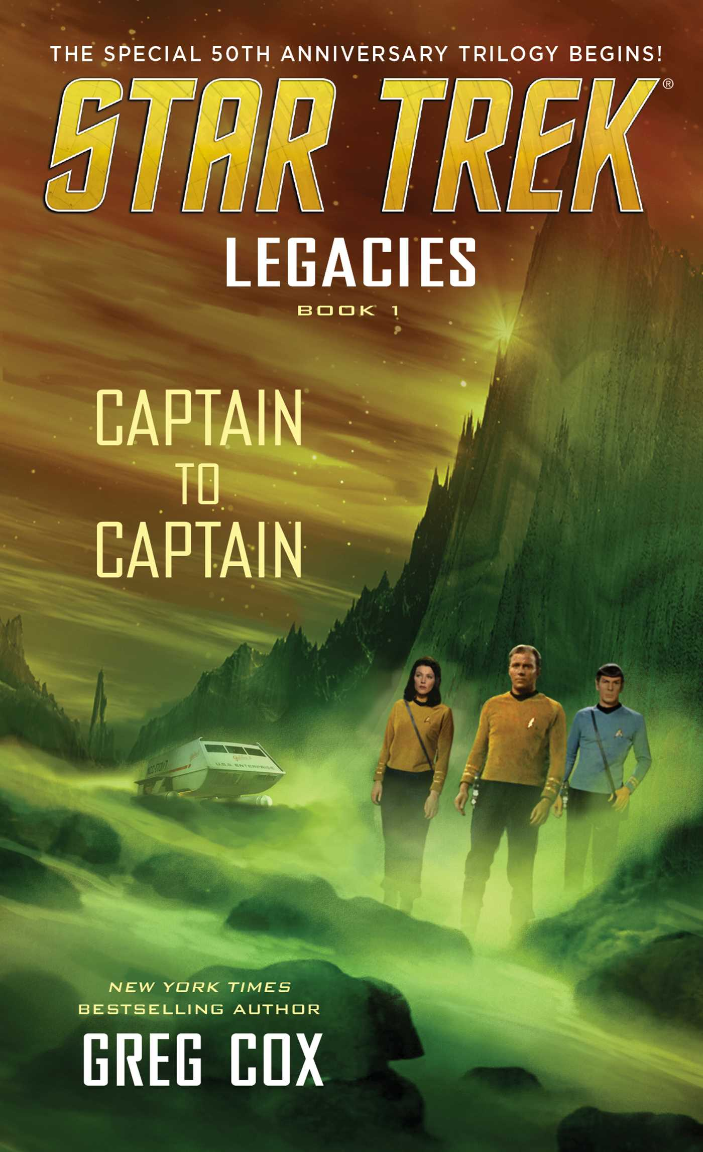 Legacies book 1 captain to captain 9781501125300 hr