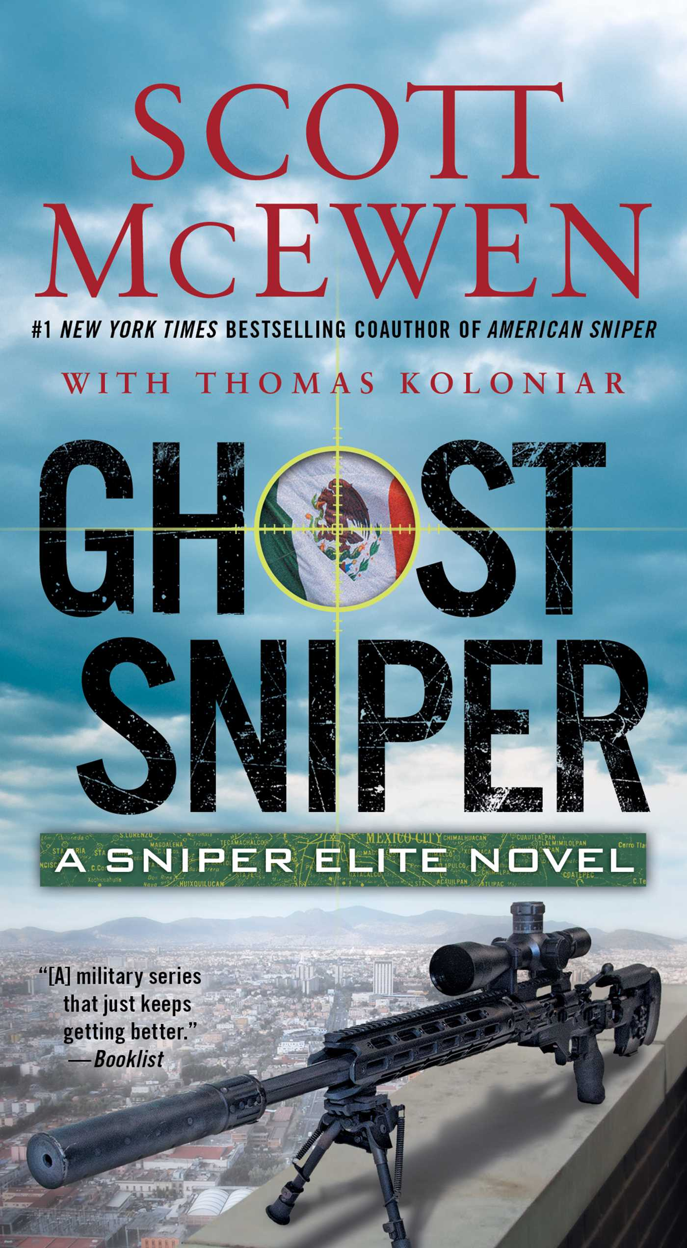 Ghost sniper 9781501126154 hr