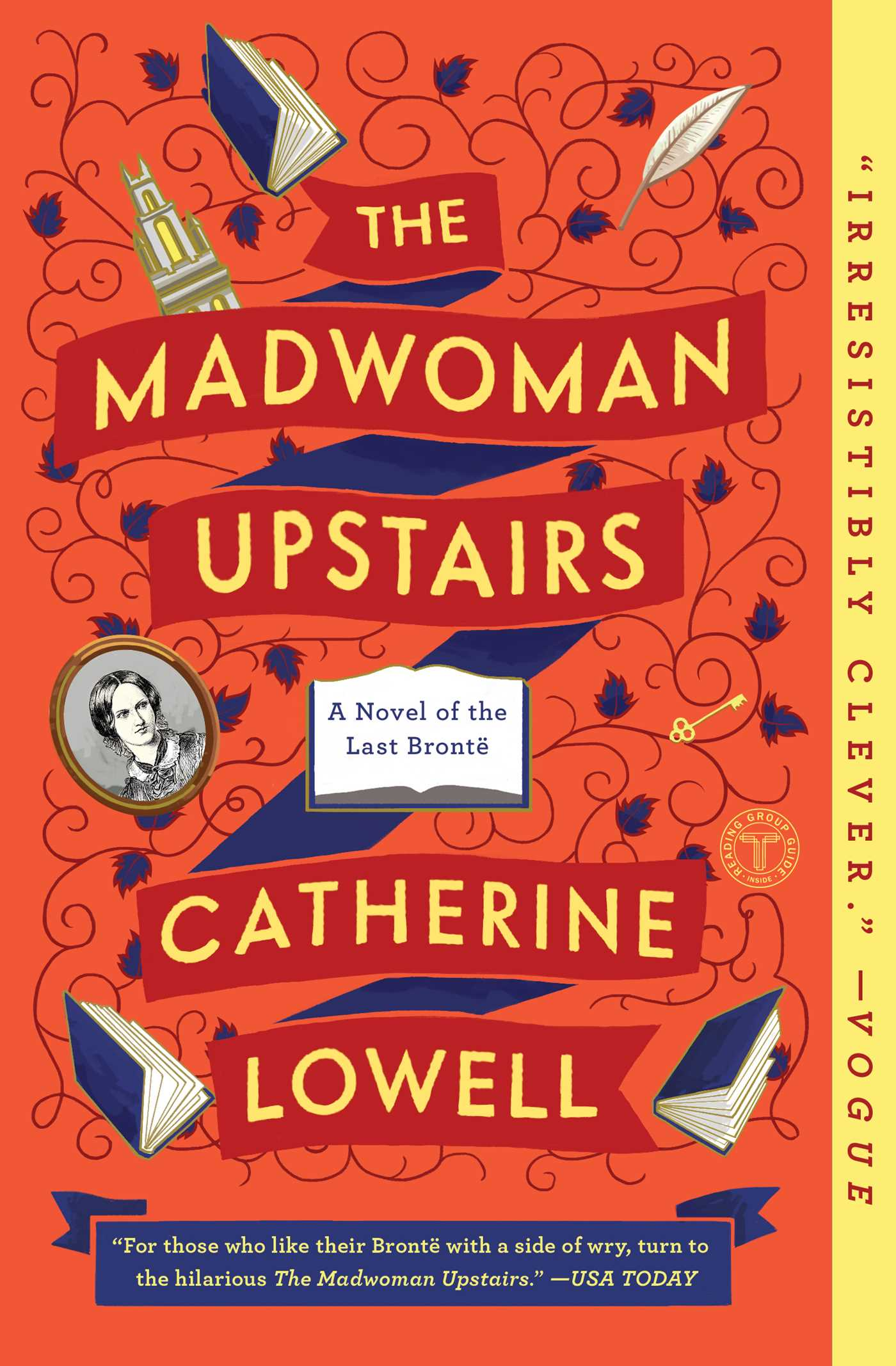 Book Cover Image (jpg): The Madwoman Upstairs