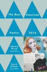 Best american poetry 2016 9781501127564