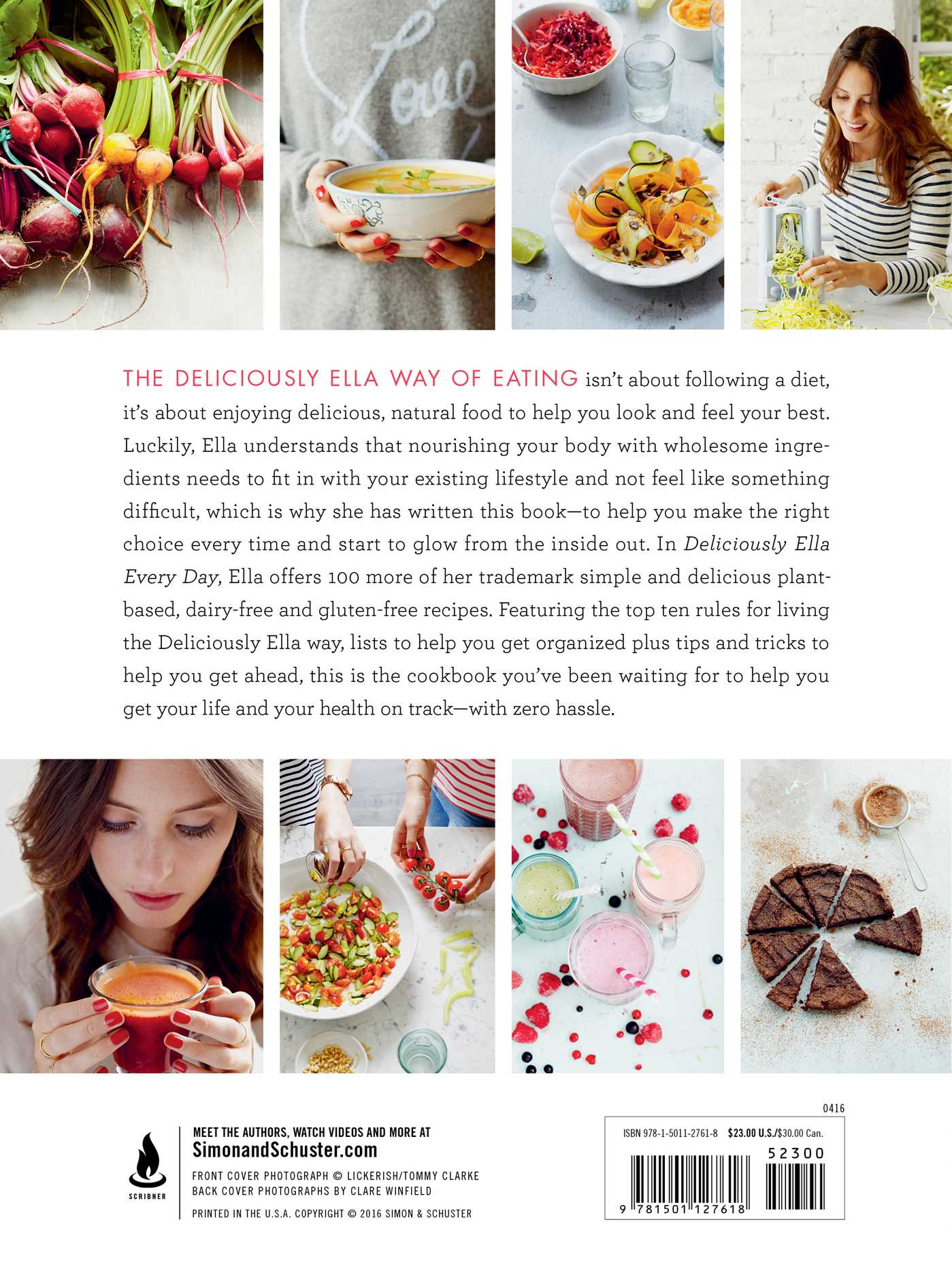 Deliciously ella every day book by ella woodward official deliciously ella every day 9781501127618 hr back forumfinder Images