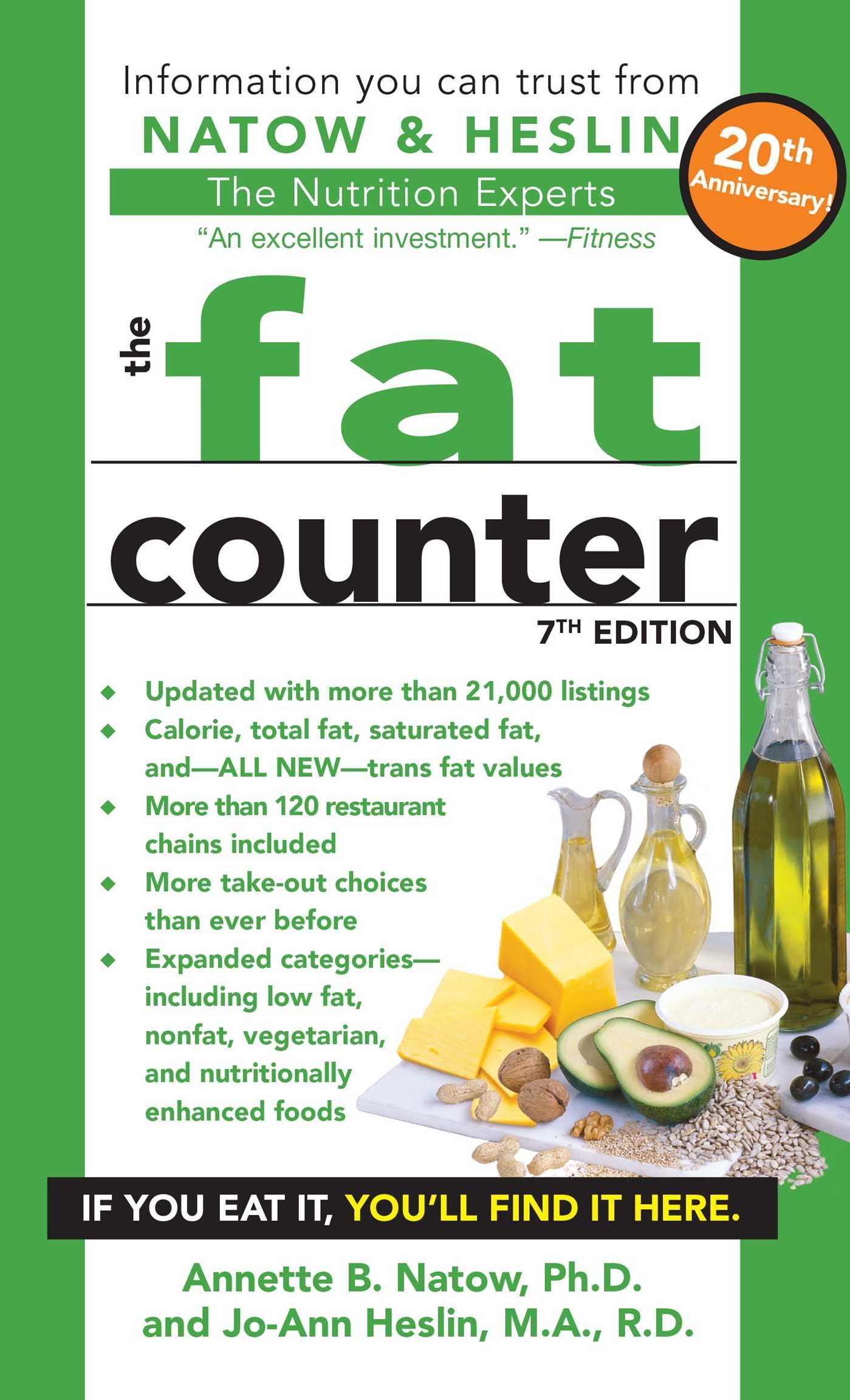 the fat counter book by annette b natow jo ann heslin official
