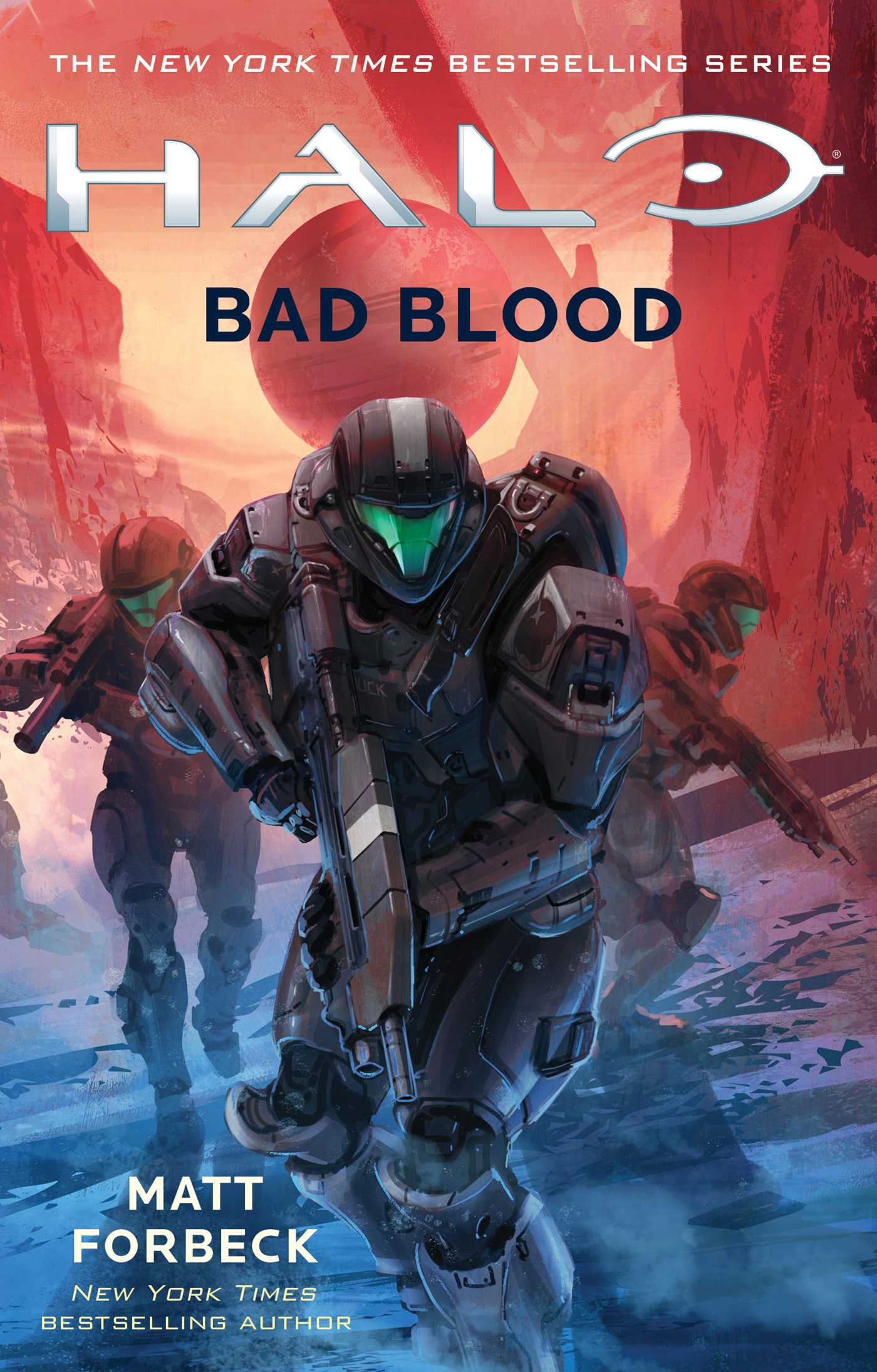 Halo bad blood 9781501128257 hr
