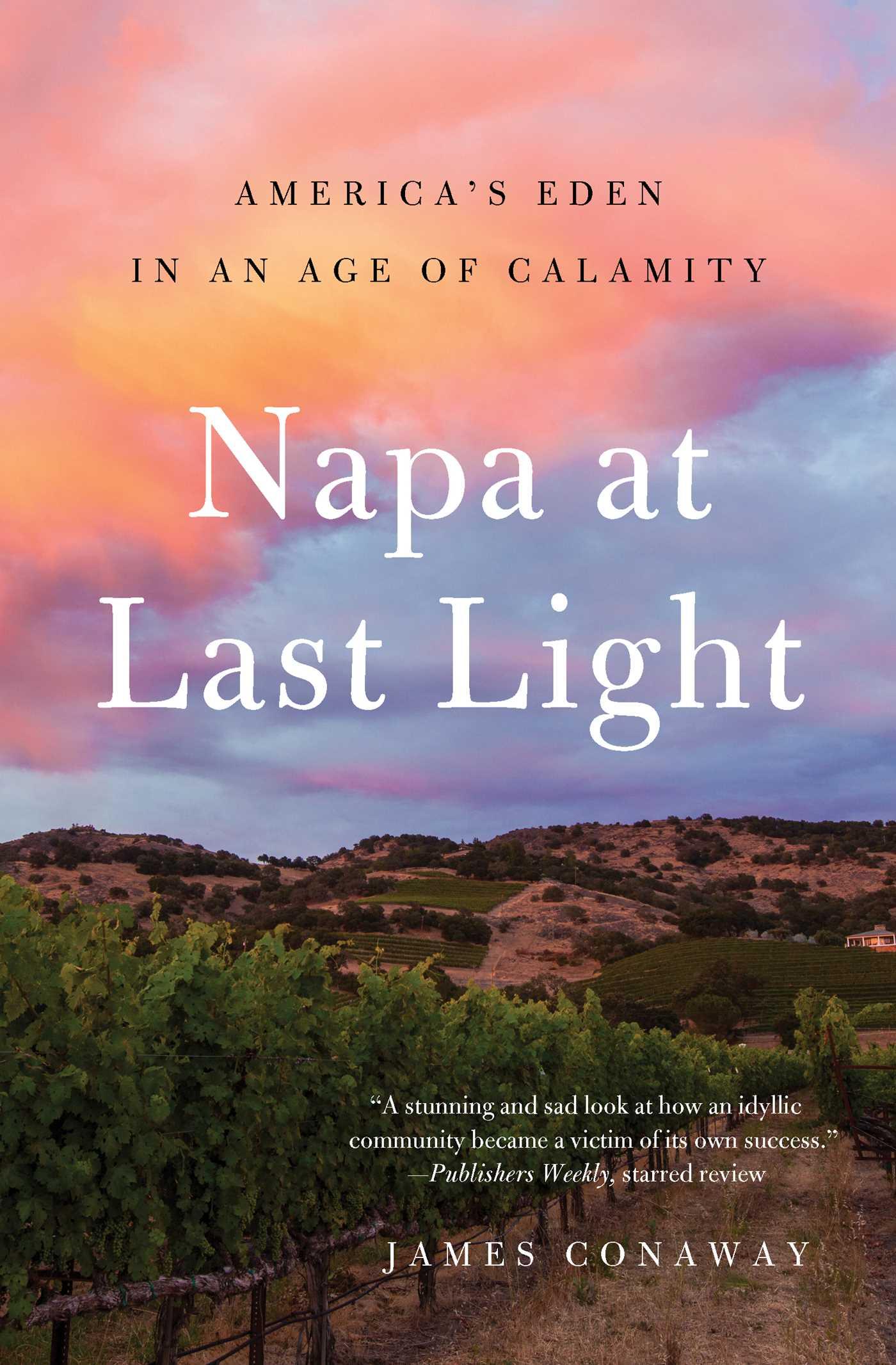 Napa at last light 9781501128462 hr