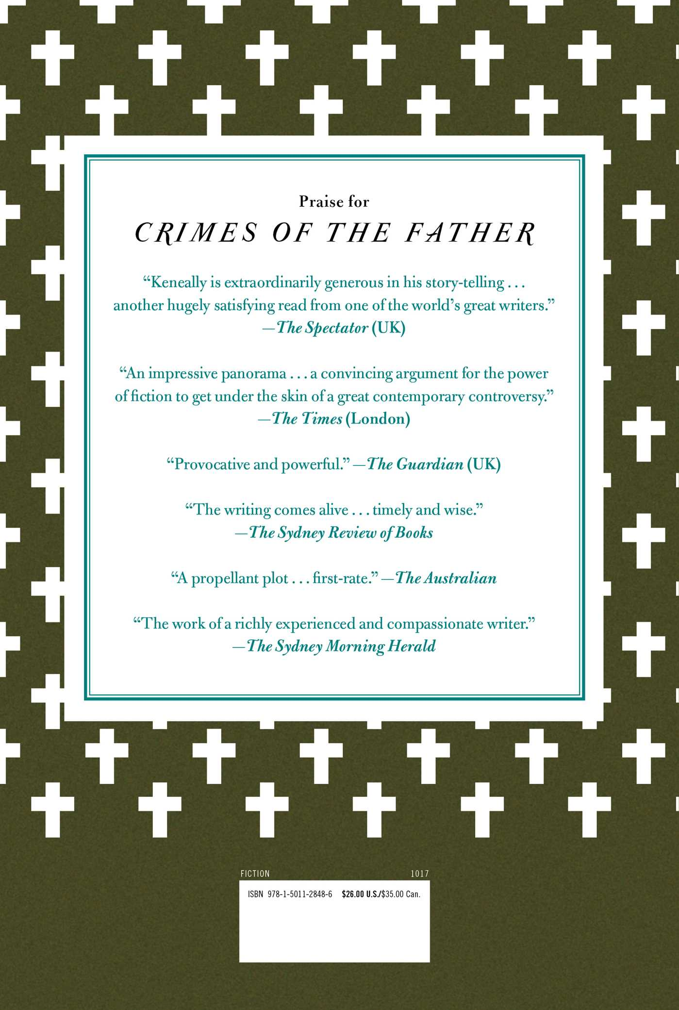 Crimes of the father 9781501128486 hr back