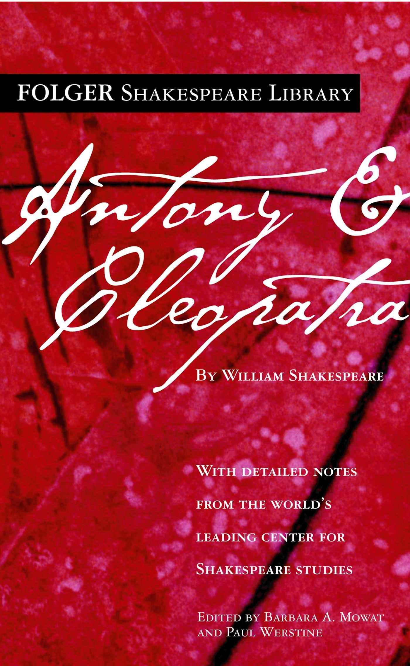 Antony and cleopatra 9781501128844 hr