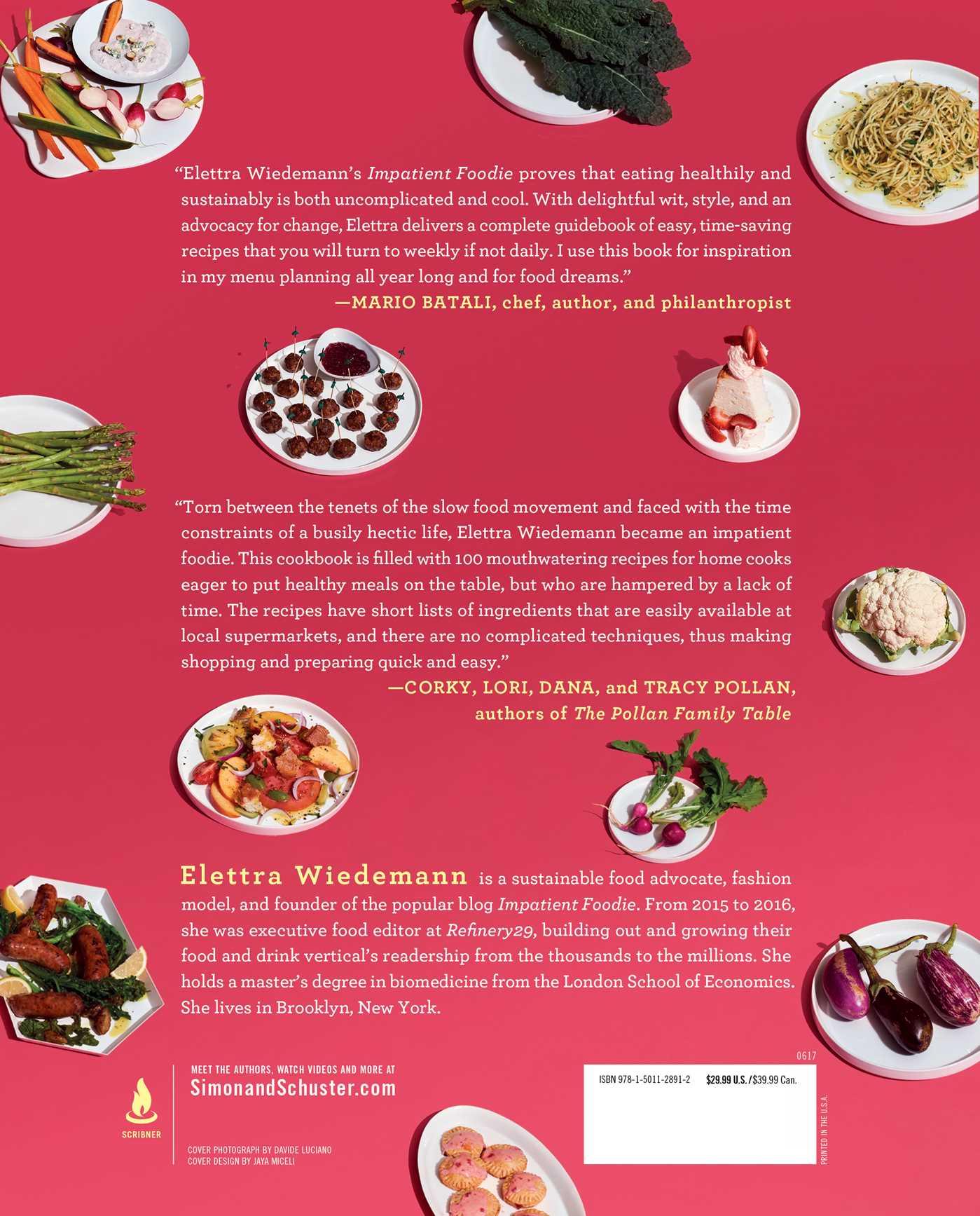 Impatient foodie book by elettra wiedemann official publisher impatient foodie 9781501128912 hr impatient foodie 9781501128912 hr back forumfinder Images