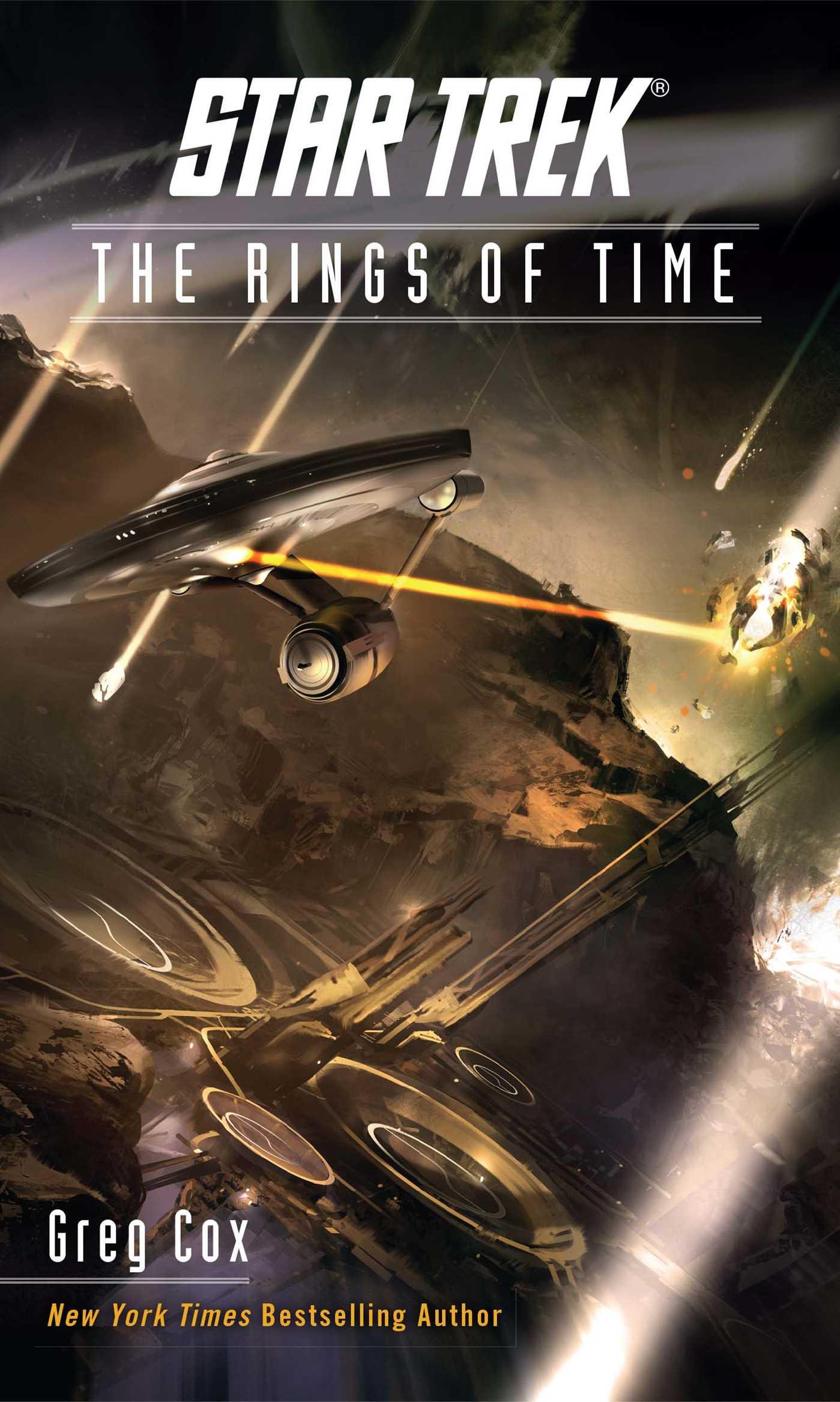 Star trek the original series the rings of time 9781501130199 hr