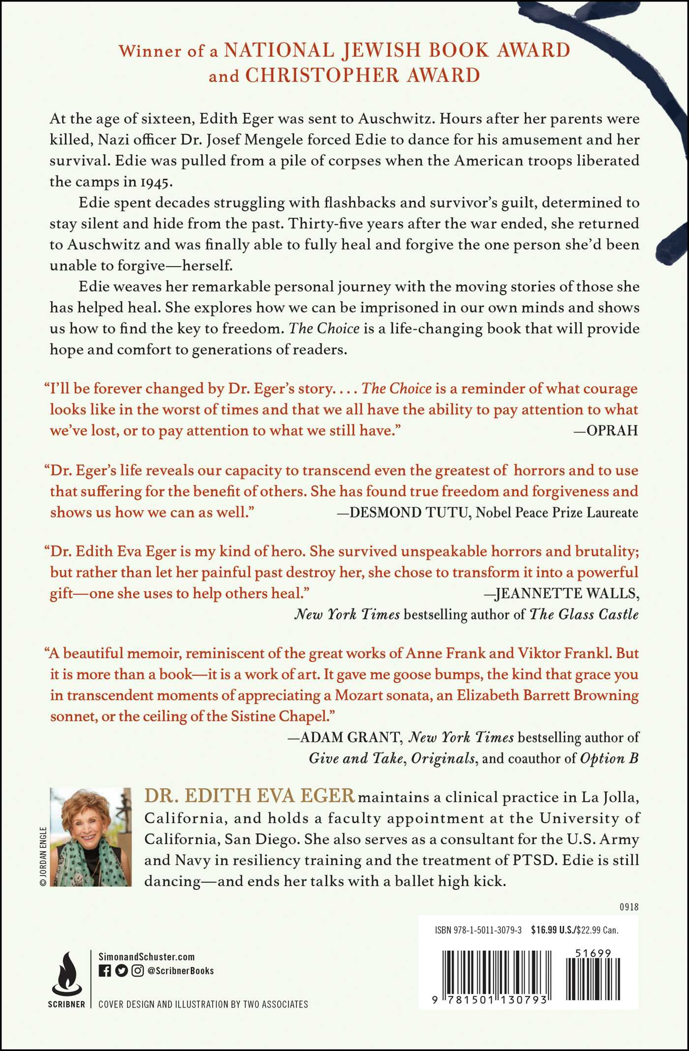The Choice Book By Edith Eva Eger Official Publisher Page