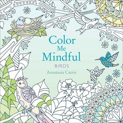 Color Me Mindful: Birds book cover