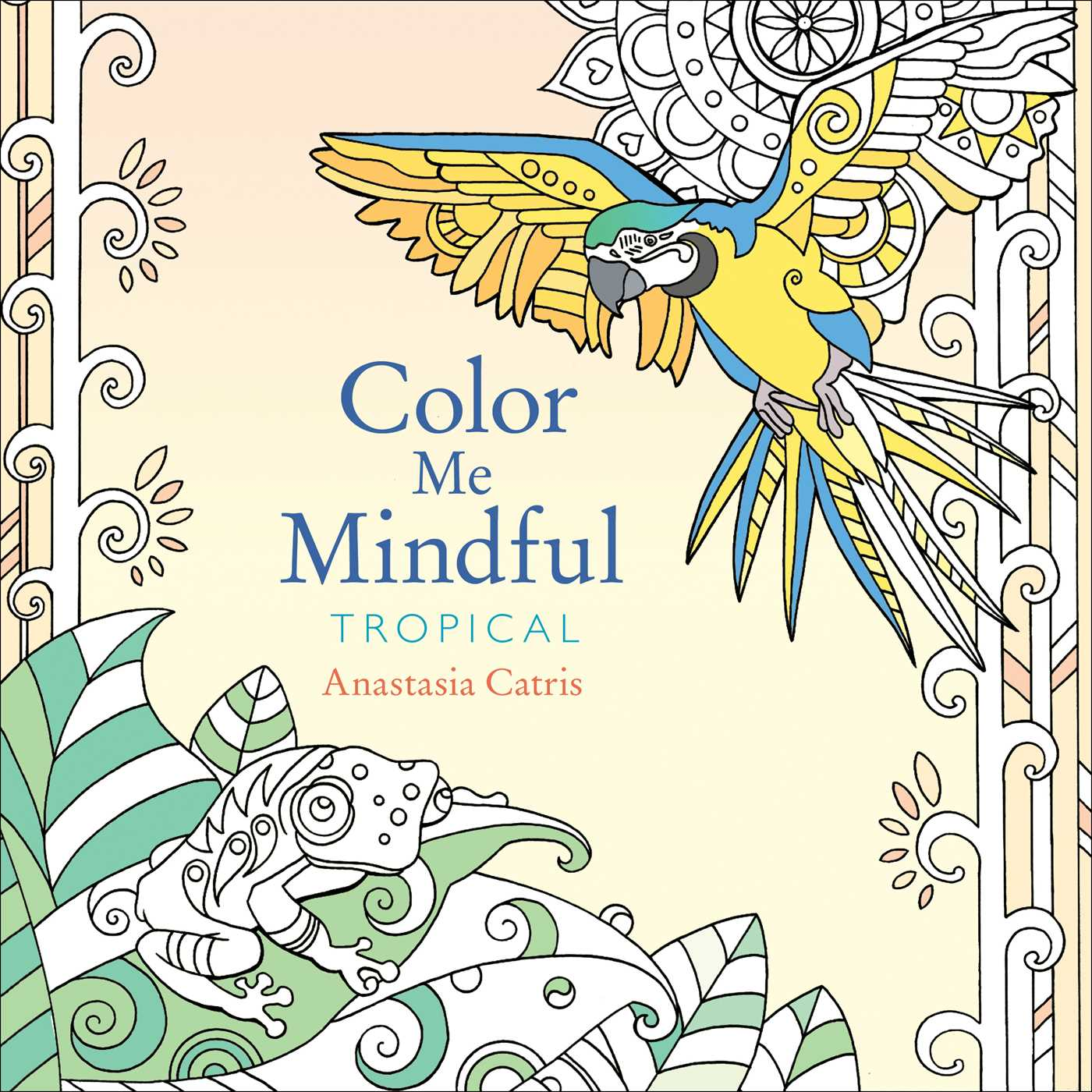 Color me mindful tropical 9781501130892 hr