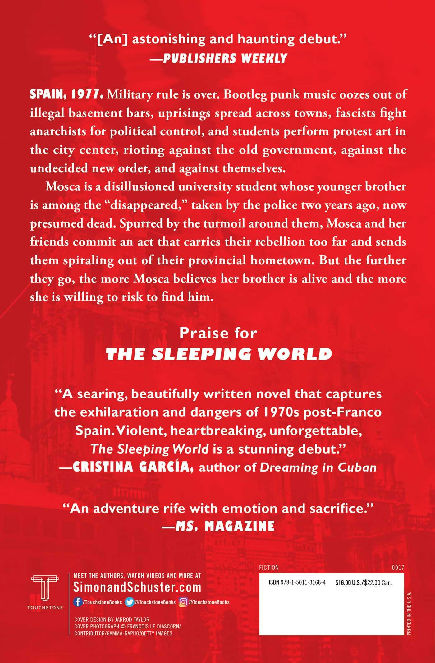 The sleeping world 9781501131684 hr back