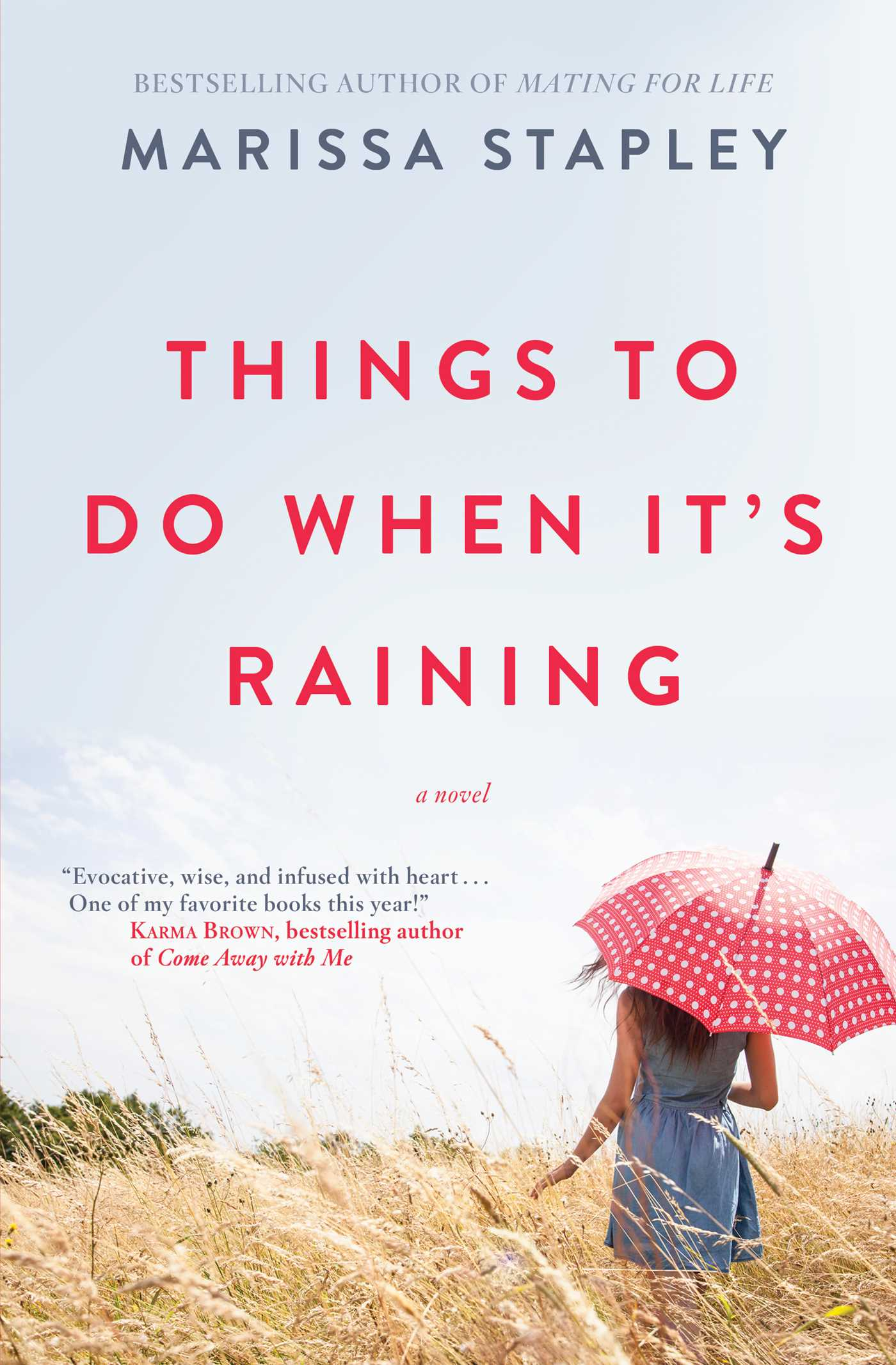 Things to do when its raining 9781501131868 hr
