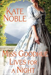 Miss Goodhue Lives for a Night book cover