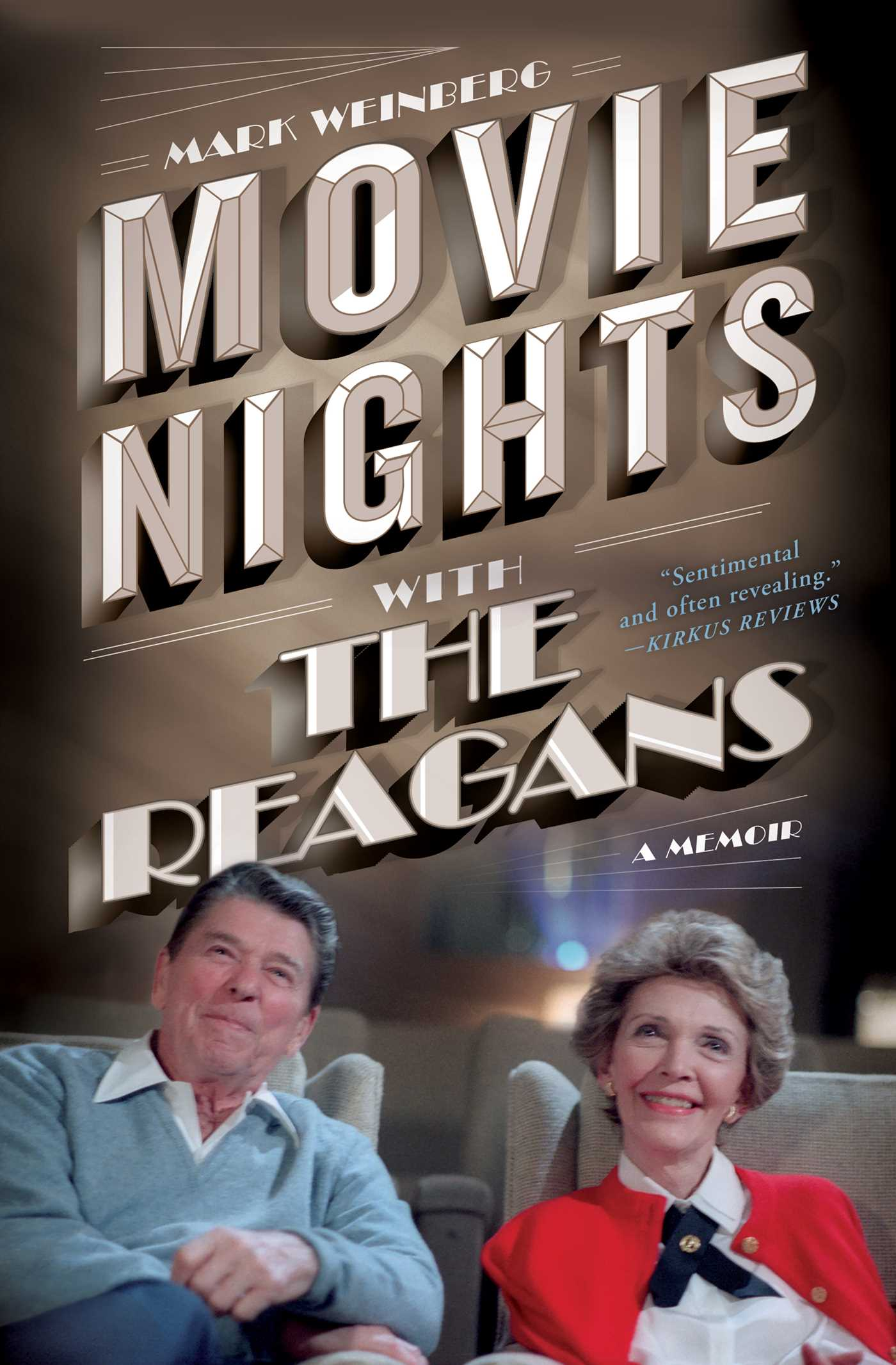 Movie nights with the reagans 9781501134012 hr