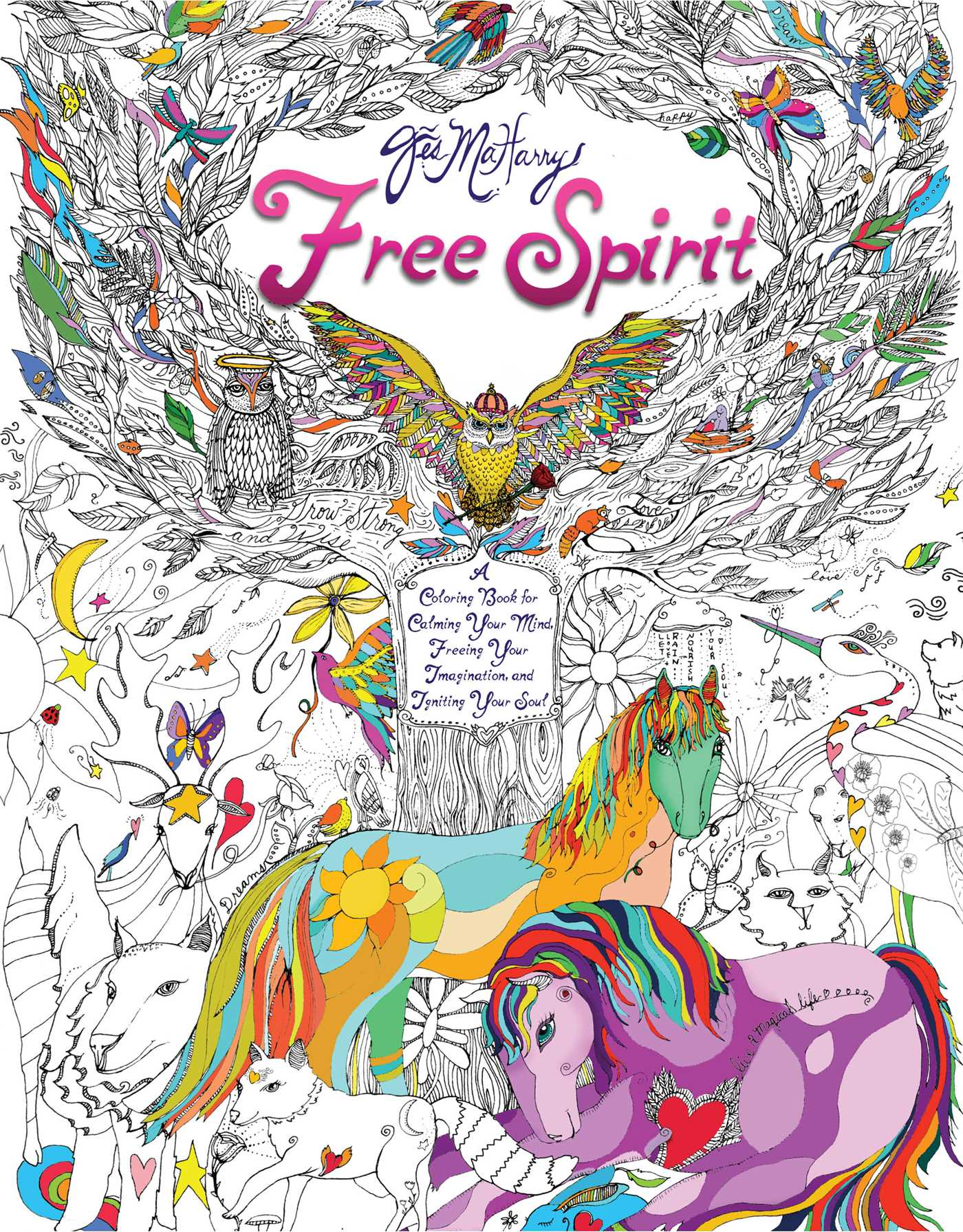 Free Spirit | Book by Jes MaHarry | Official Publisher