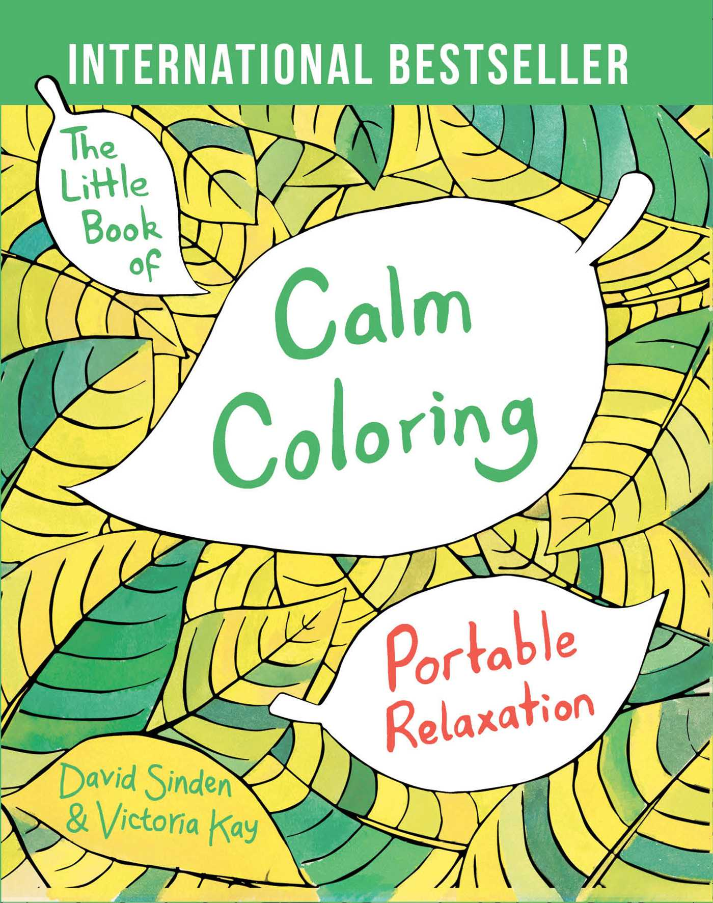 The Little Book Of Calm Coloring 9781501137556 Hr