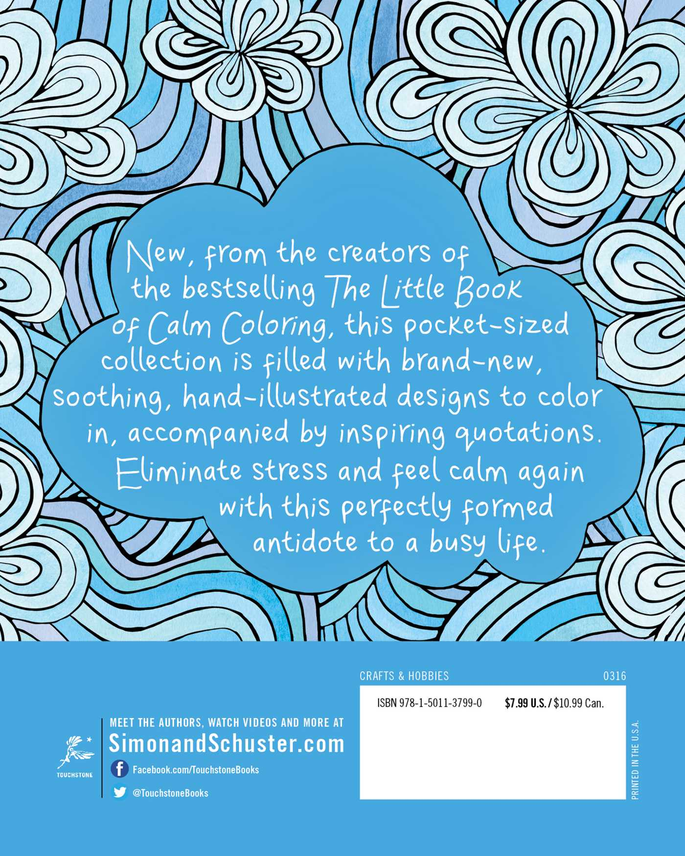 The Little Book of More Calm Coloring   Book by David Sinden ...
