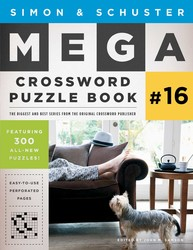 Simon & Schuster Mega Crossword Puzzle Book #16