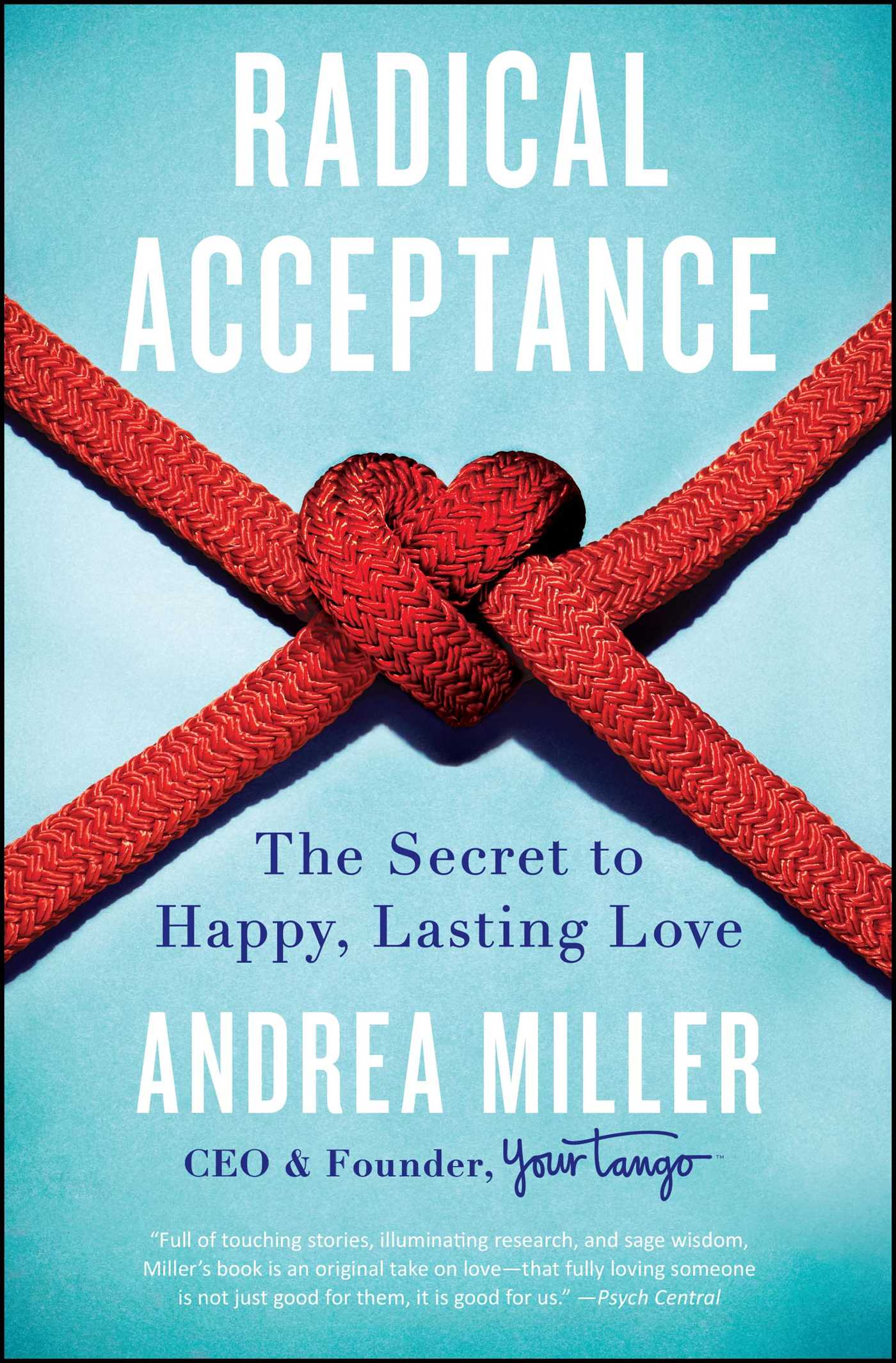 Radical Acceptance Book by Andrea Miller
