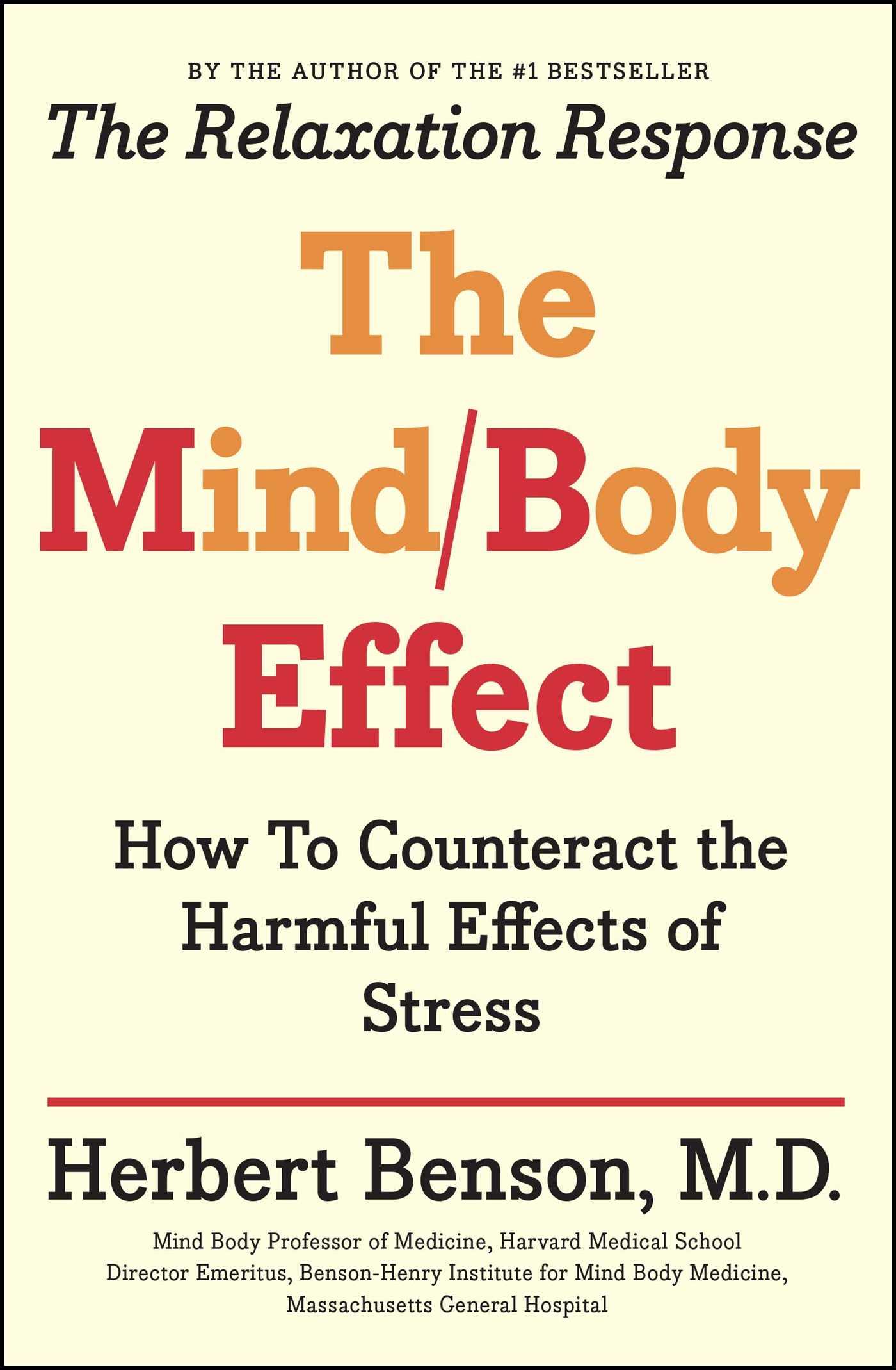 Mind body effect 9781501140921 hr