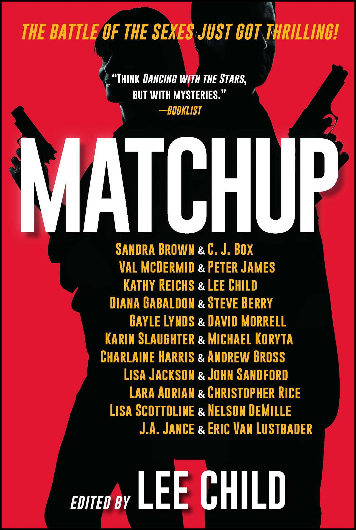 Matchup book by lee child sandra brown c j box val mcdermid matchup 9781501141607 hr fandeluxe Choice Image