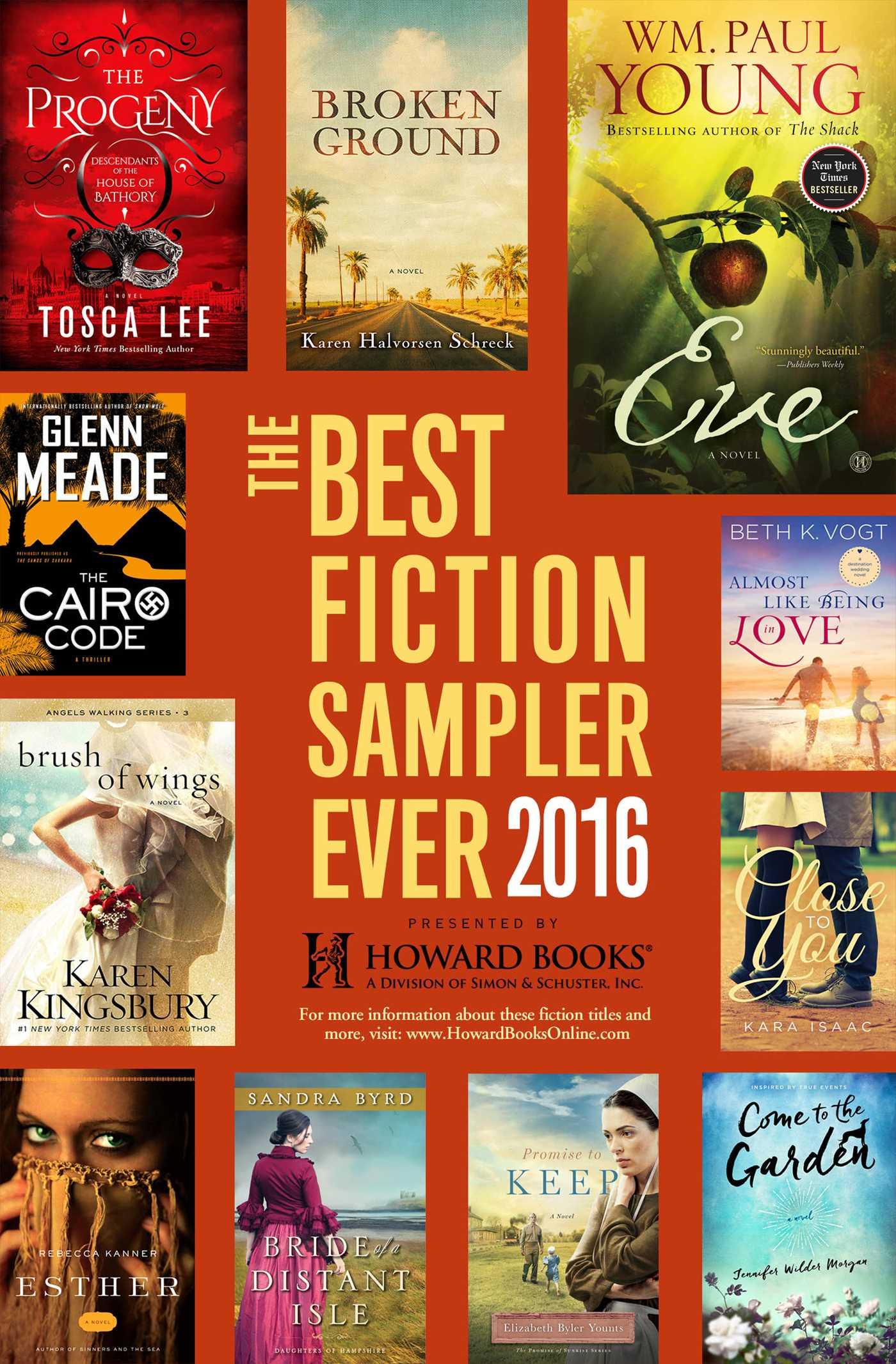 Best fiction sampler ever 2016 howard books 9781501141645 hr