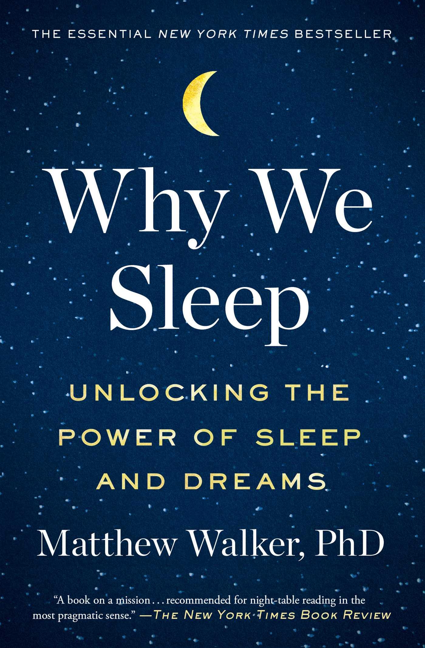Why we sleep 9781501144332 hr