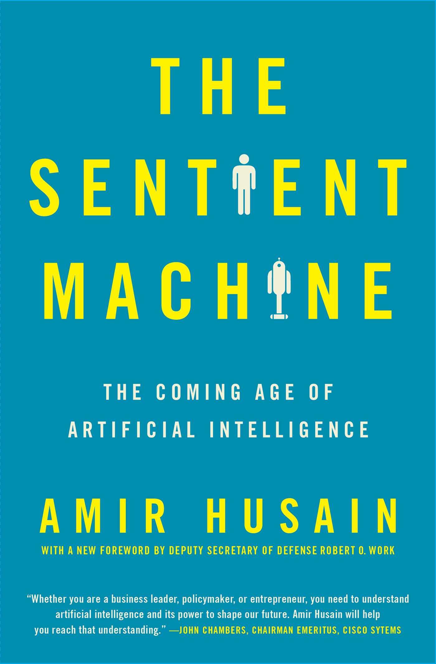 The sentient machine 9781501144684 hr