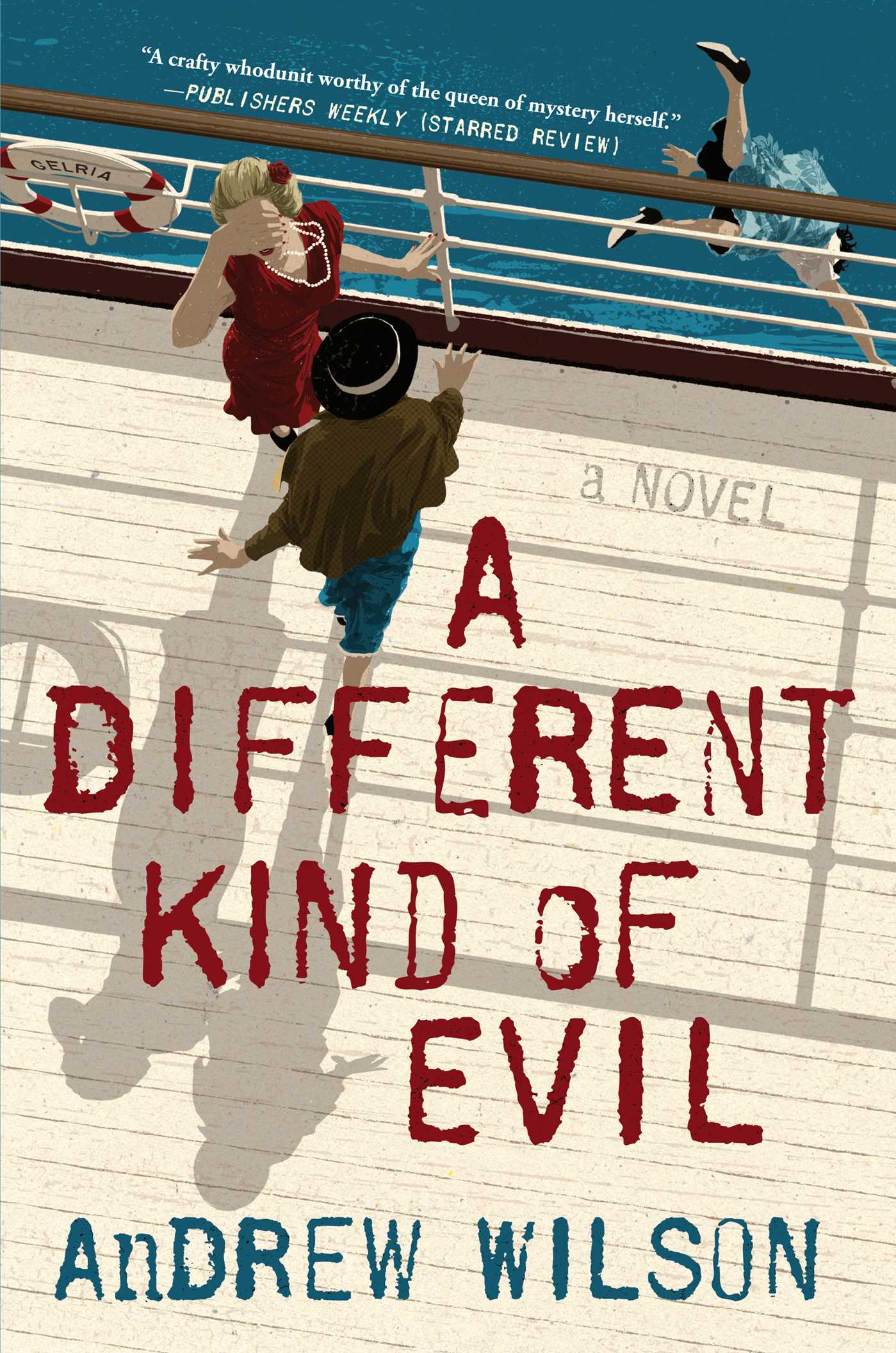 A different kind of evil 9781501145094 hr