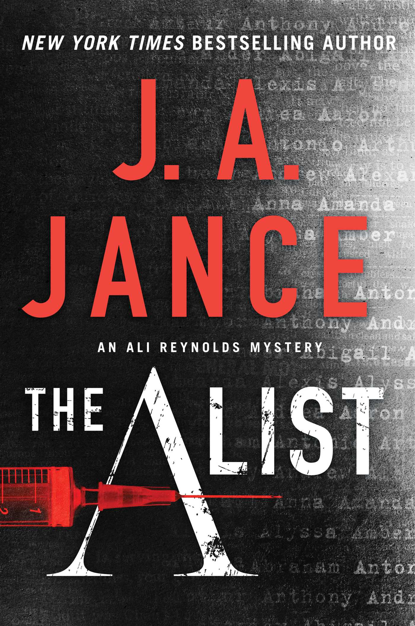 The a list 9781501151019 hr