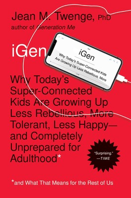 Igen Ebook By Jean M Twenge Official Publisher Page Simon
