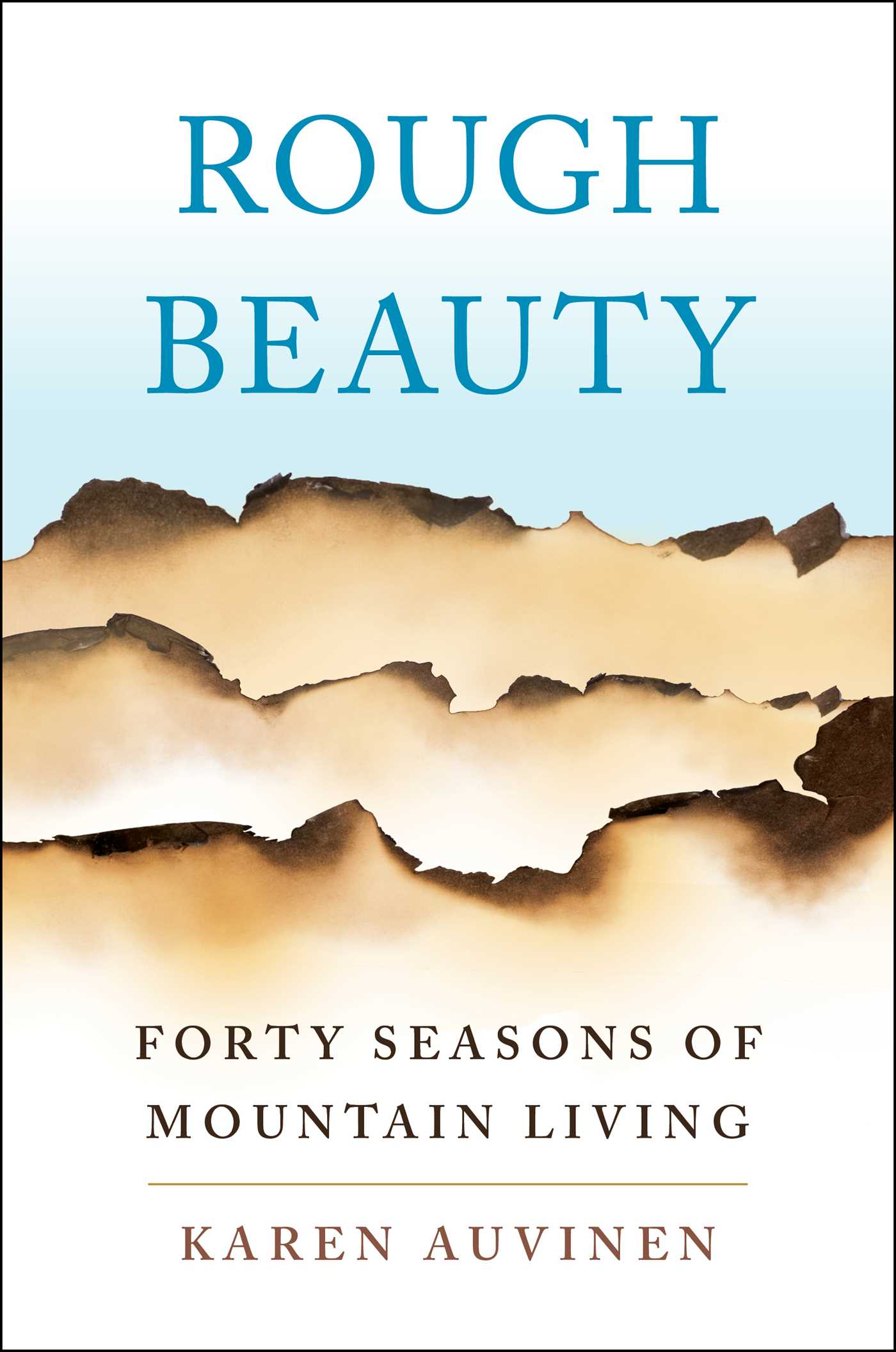 Book Cover Image (jpg): Rough Beauty