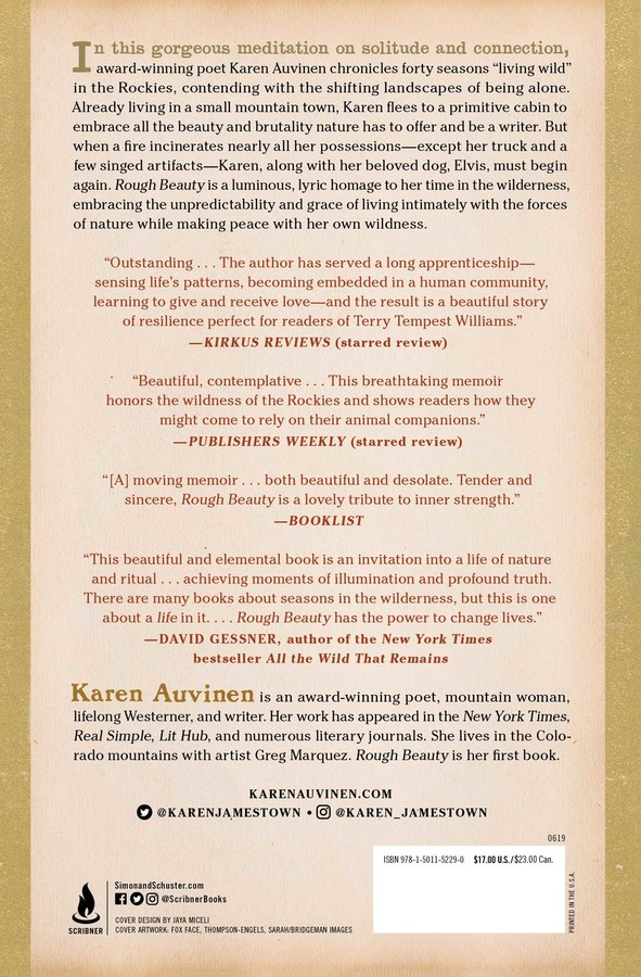 Rough Beauty | Book by Karen Auvinen | Official Publisher