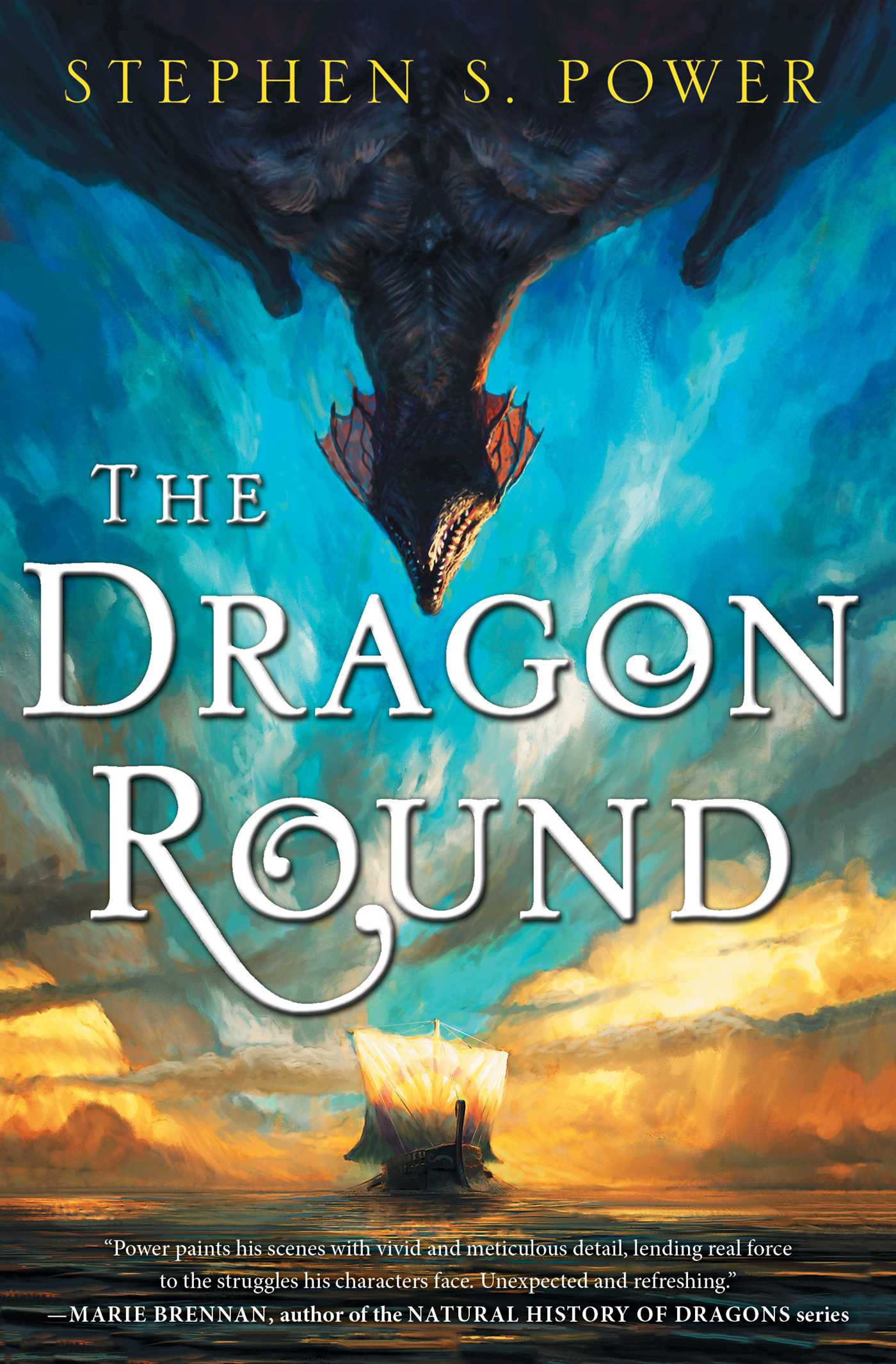 The dragon round 9781501152757 hr