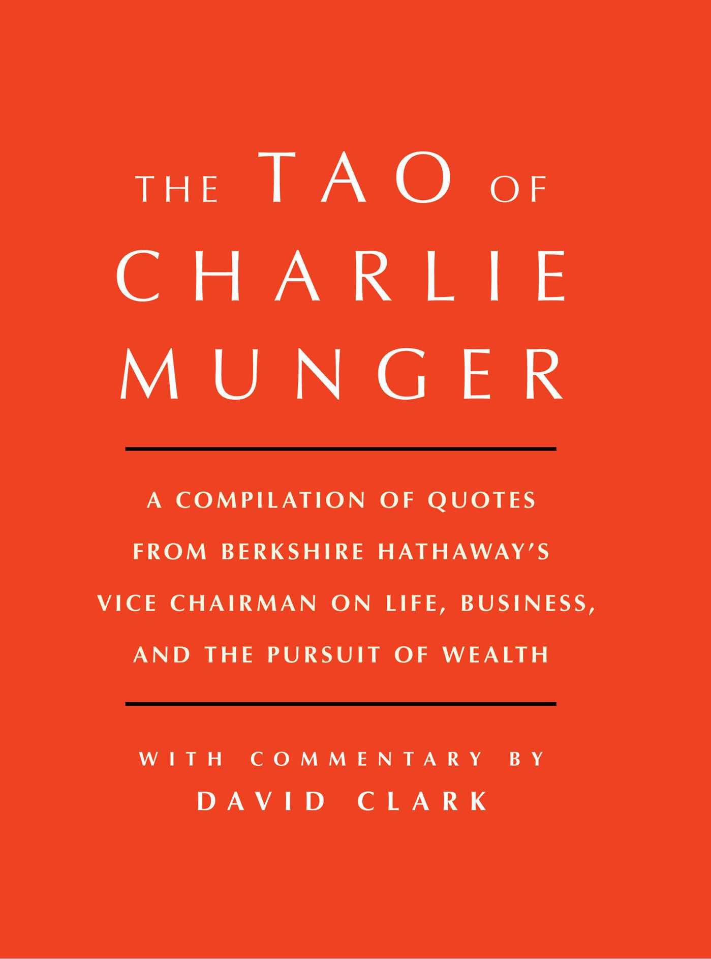 Tao of charlie munger 9781501153358 hr