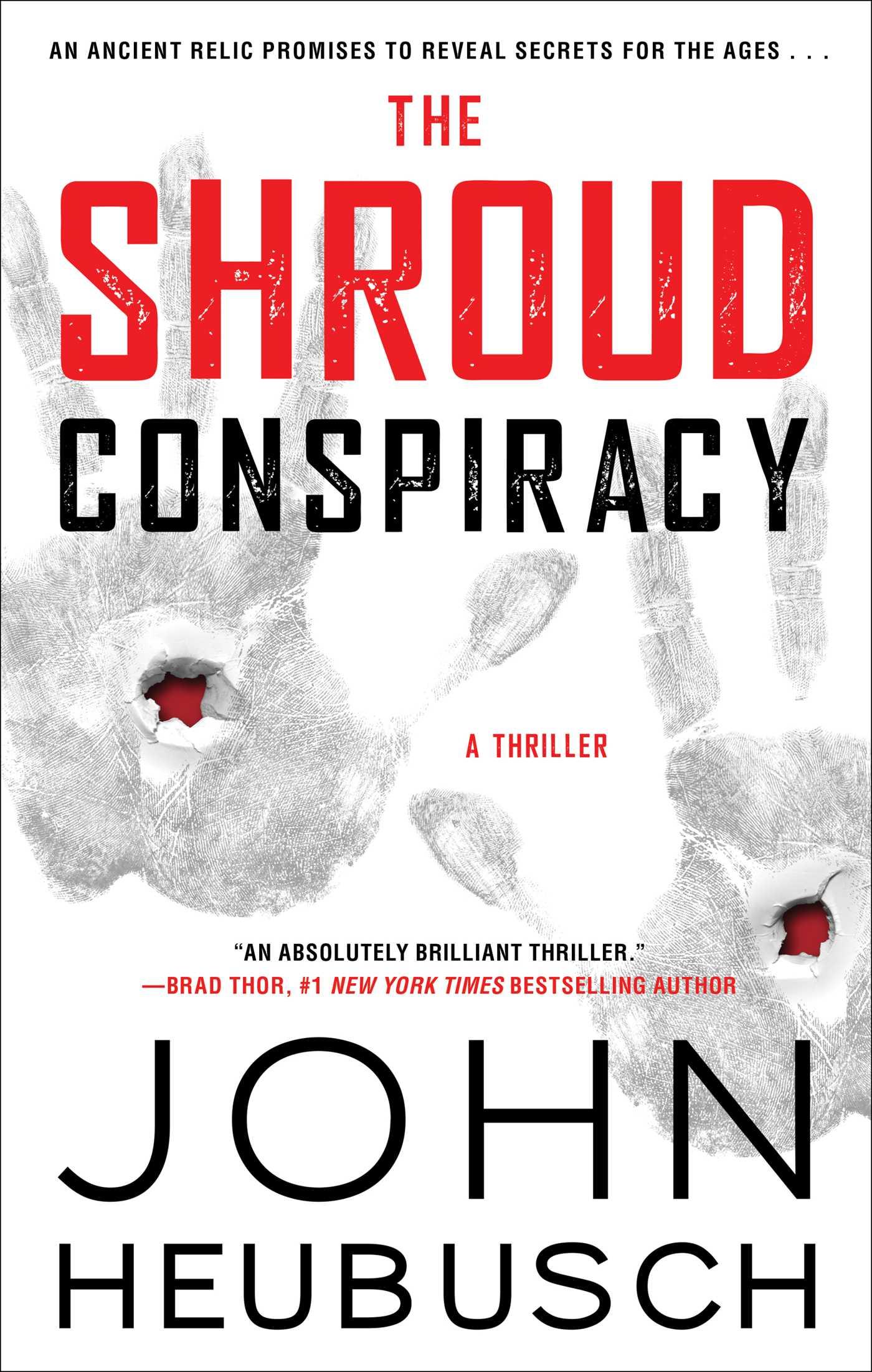 The shroud conspiracy 9781501155703 hr