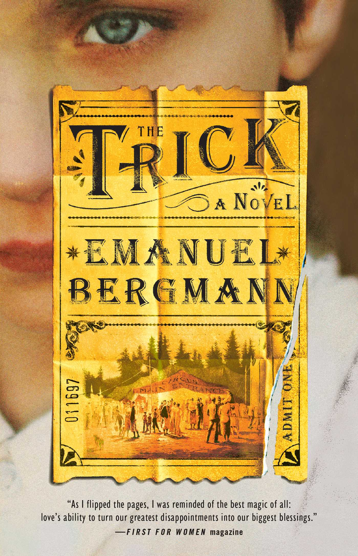 The trick book by emanuel bergmann official publisher page the trick 9781501155833 hr fandeluxe Choice Image