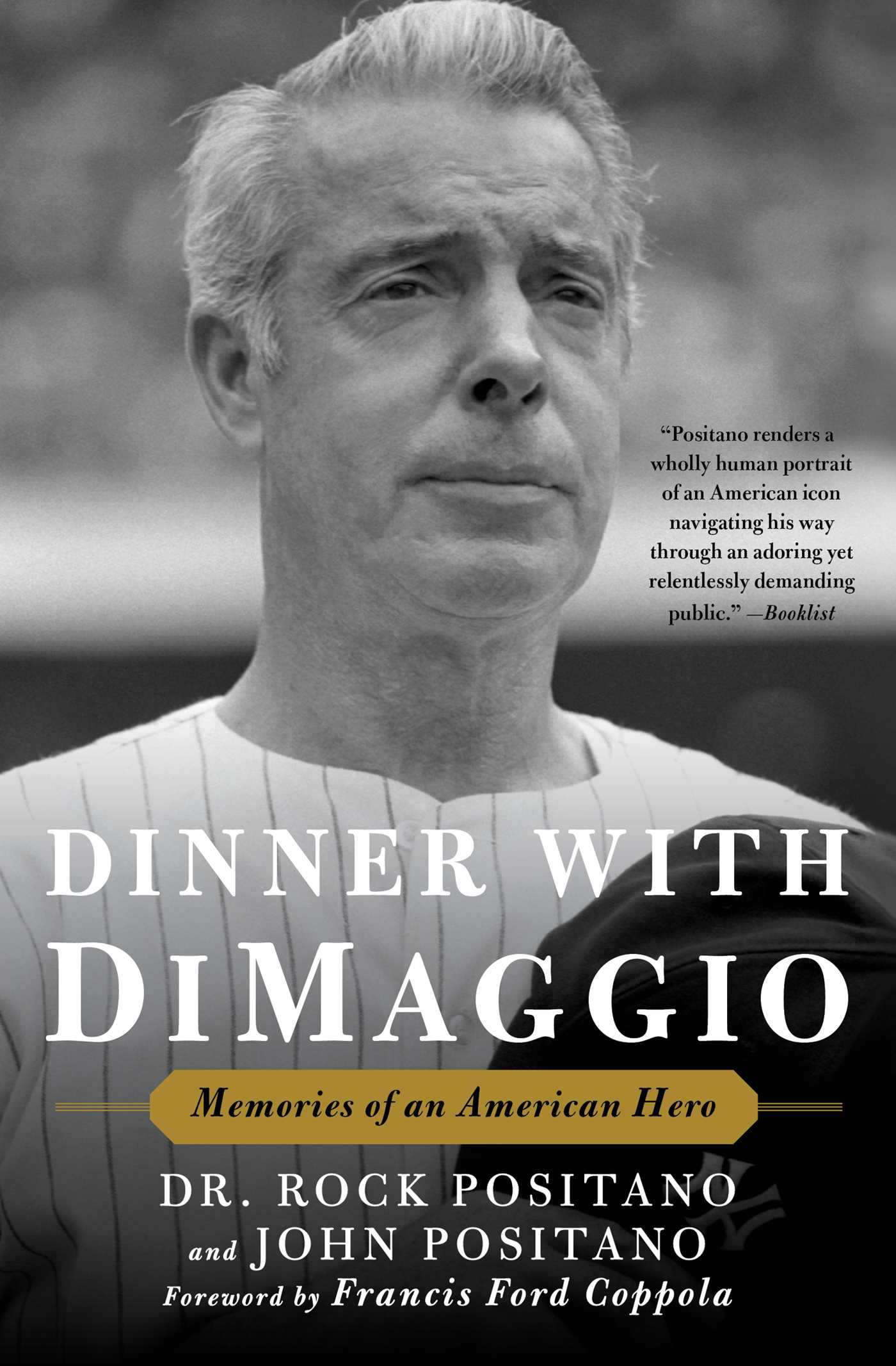 Dinner with dimaggio 9781501156854 hr