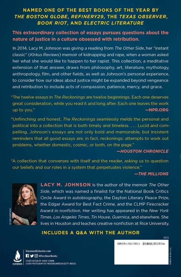 The Reckonings | Book by Lacy M  Johnson | Official