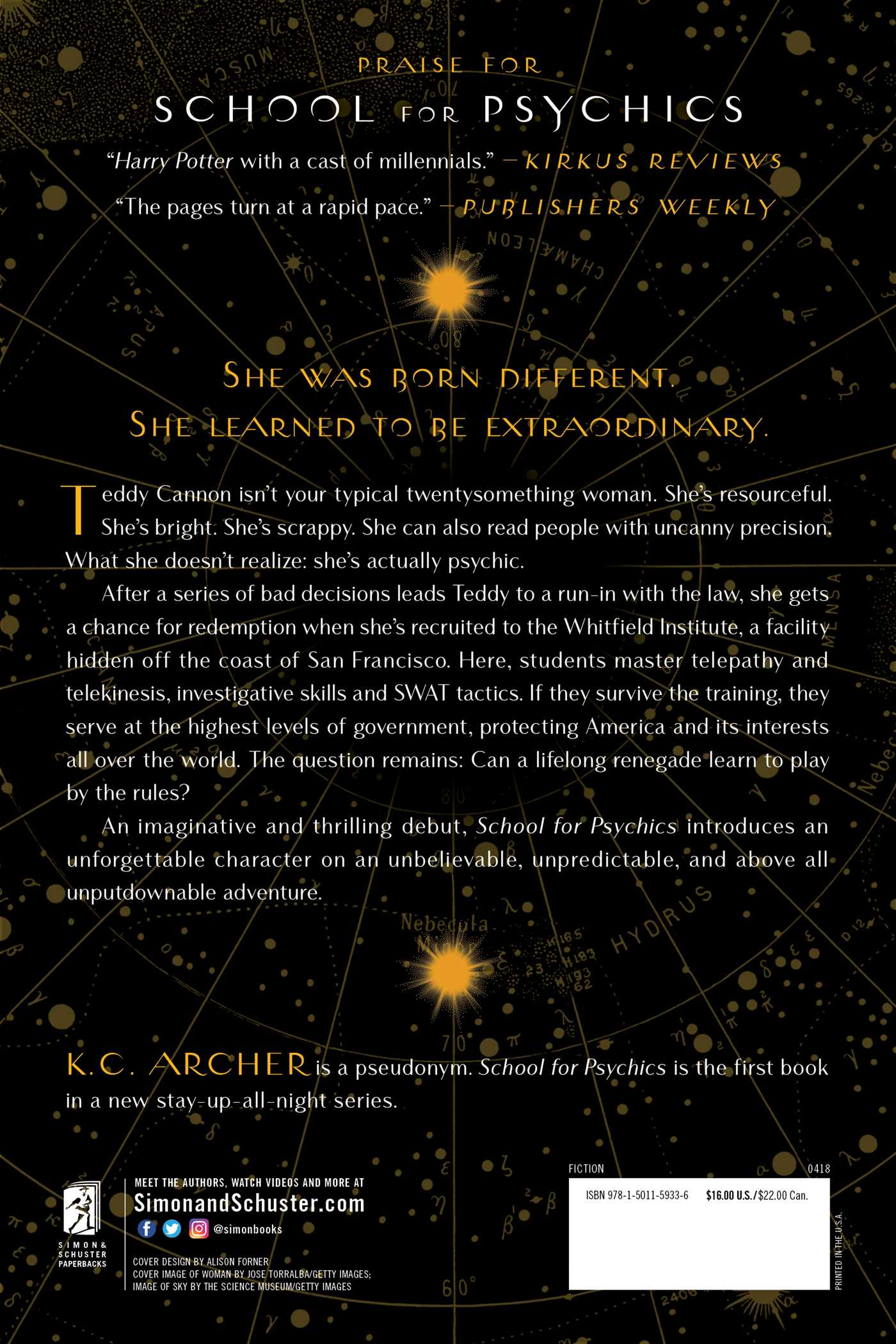 School for Psychics | Book by K C  Archer | Official Publisher Page