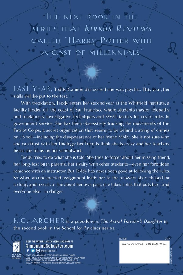 The Astral Traveler's Daughter | Book by K C  Archer